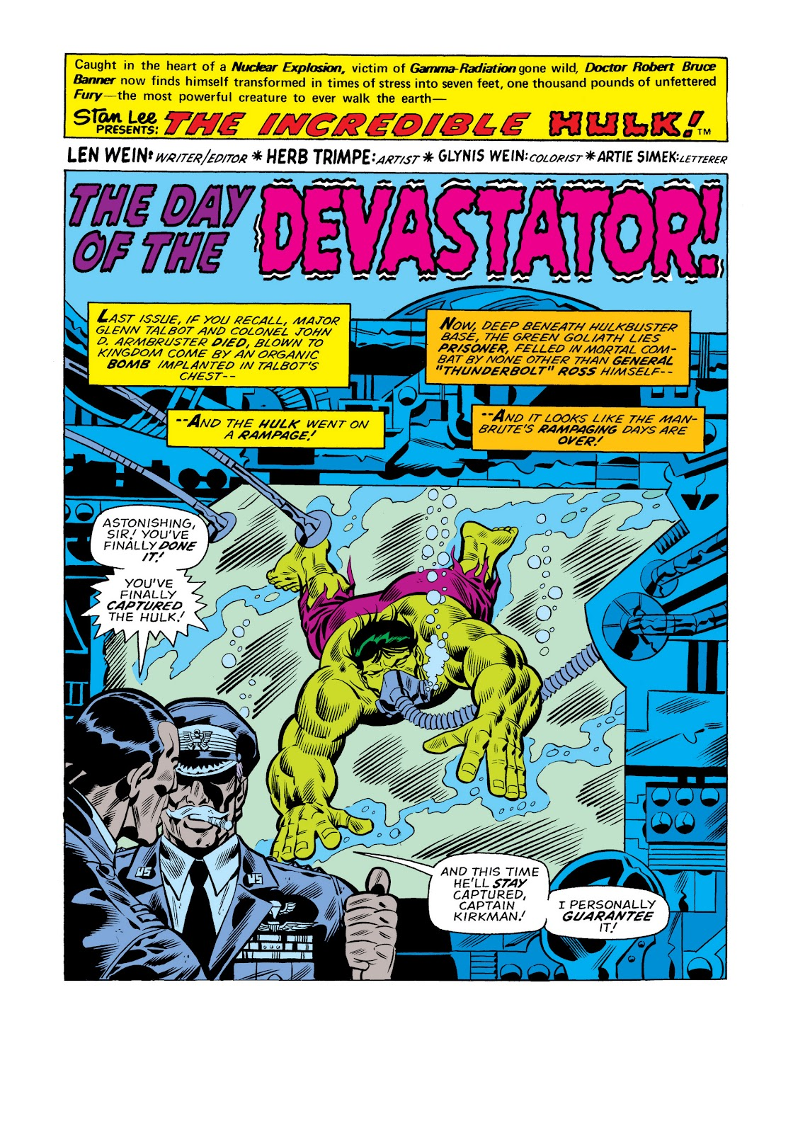 Read online Marvel Masterworks: The Incredible Hulk comic -  Issue # TPB 11 (Part 1) - 45