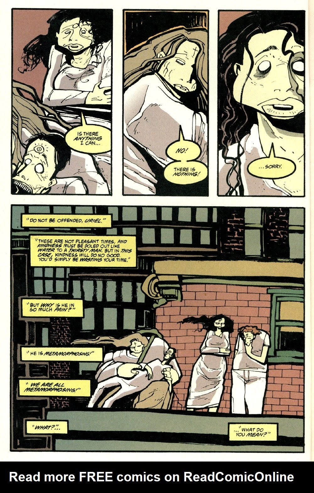Read online Ted McKeever's Metropol comic -  Issue #8 - 4