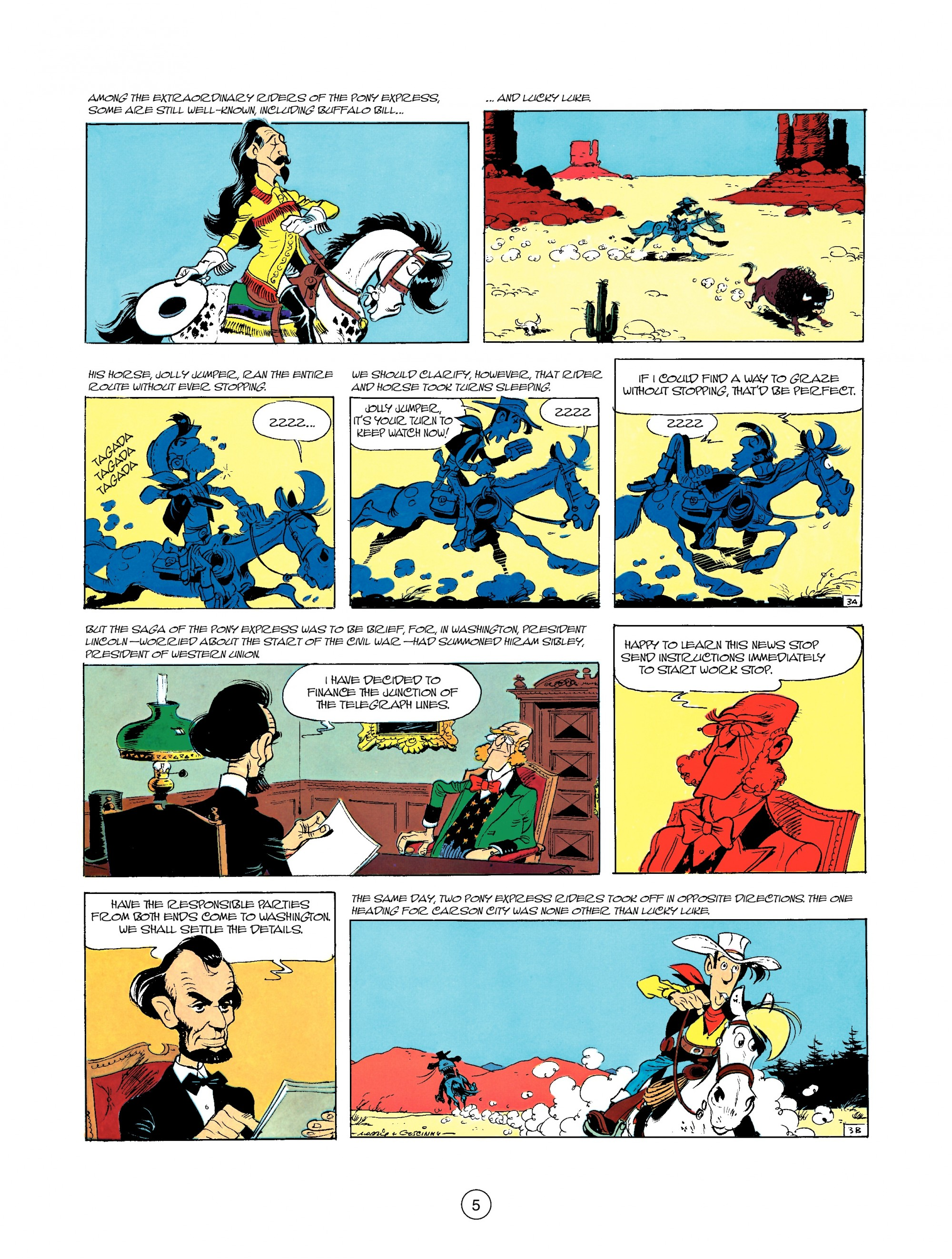 Read online A Lucky Luke Adventure comic -  Issue #35 - 5