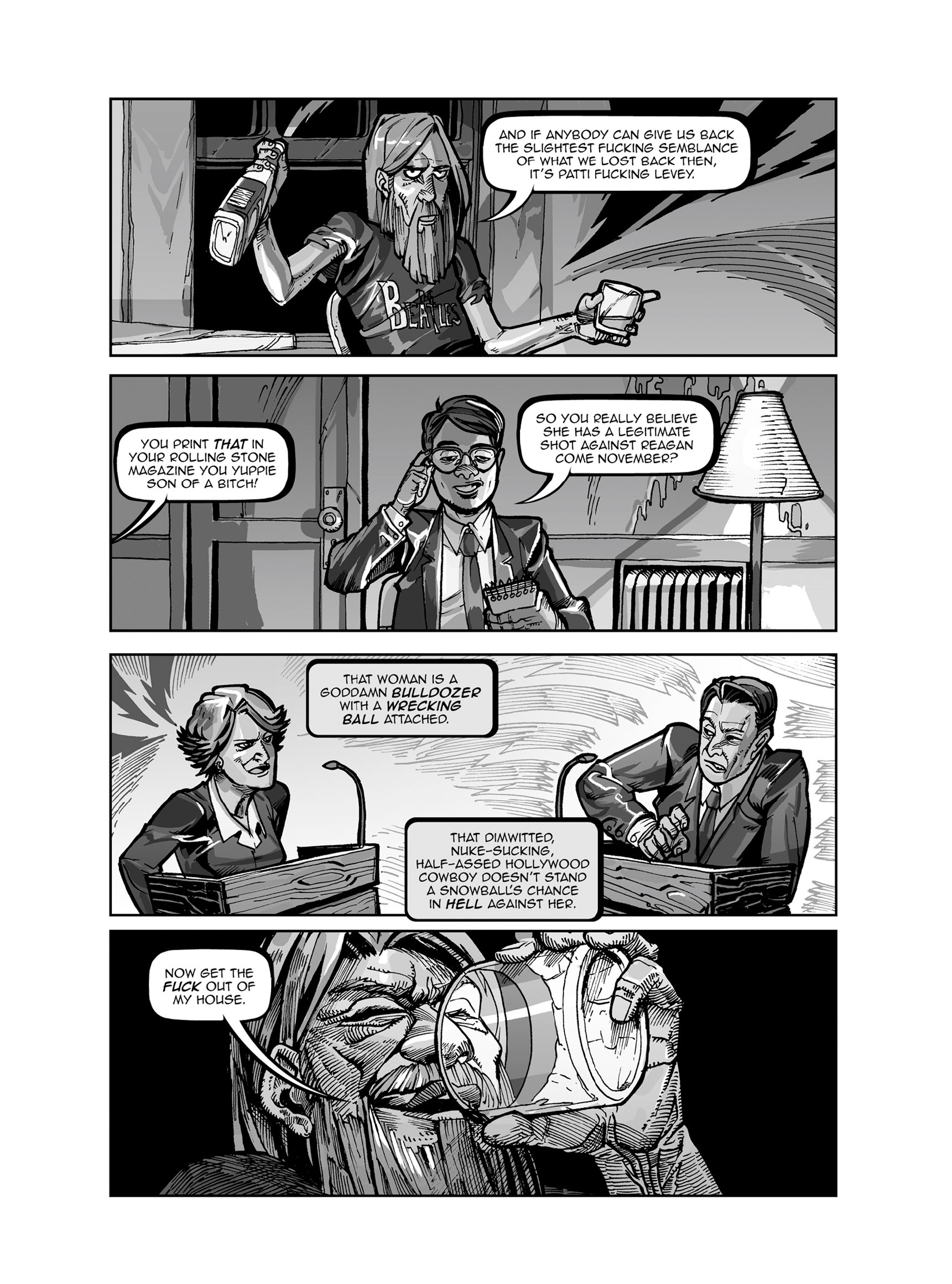 Read online FUBAR comic -  Issue #3 - 349