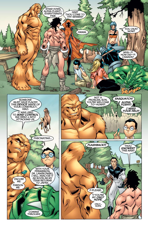 Read online Alpha Flight (2004) comic -  Issue #9 - 9