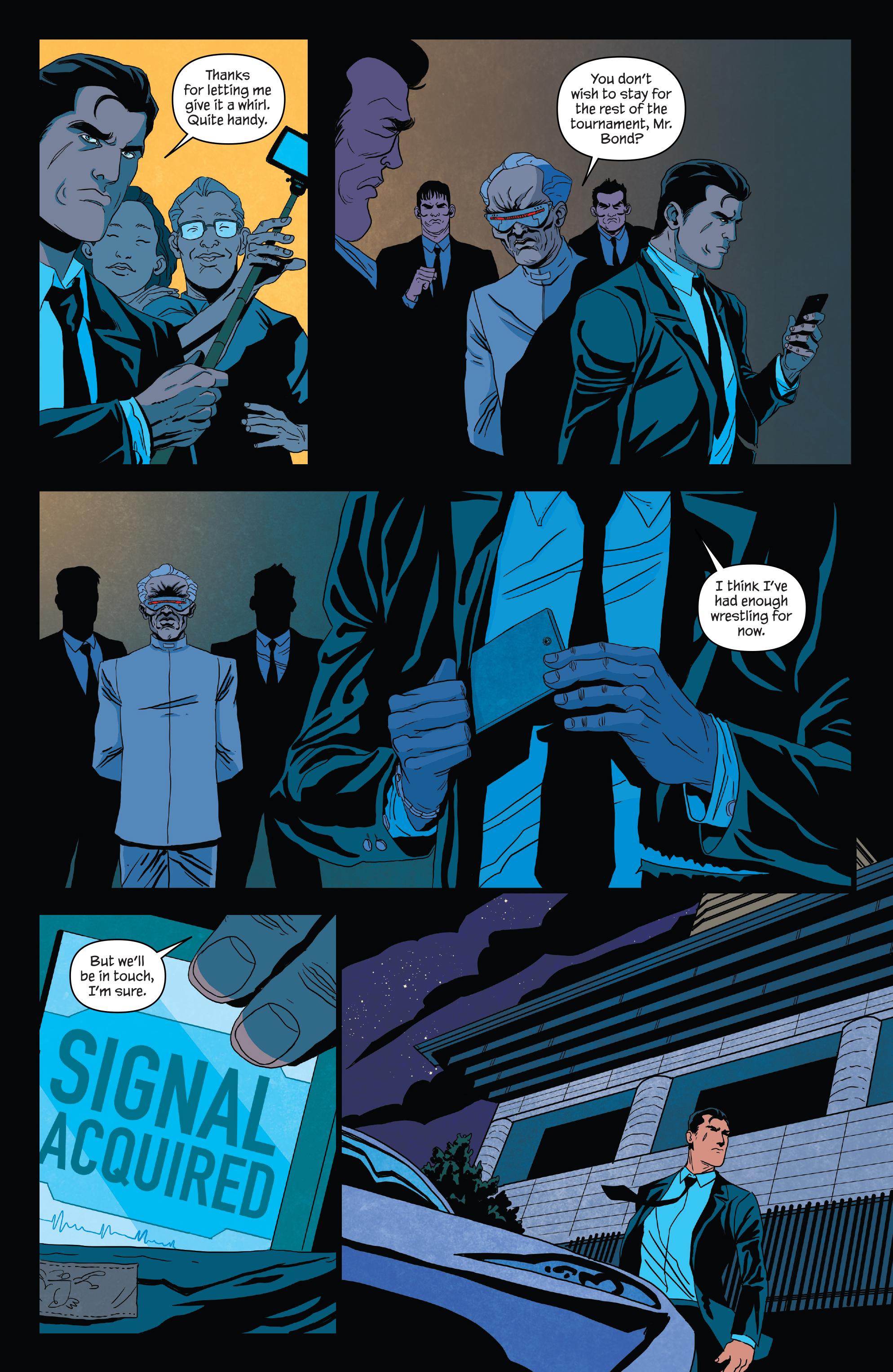 Read online James Bond (2017) comic -  Issue #3 - 21