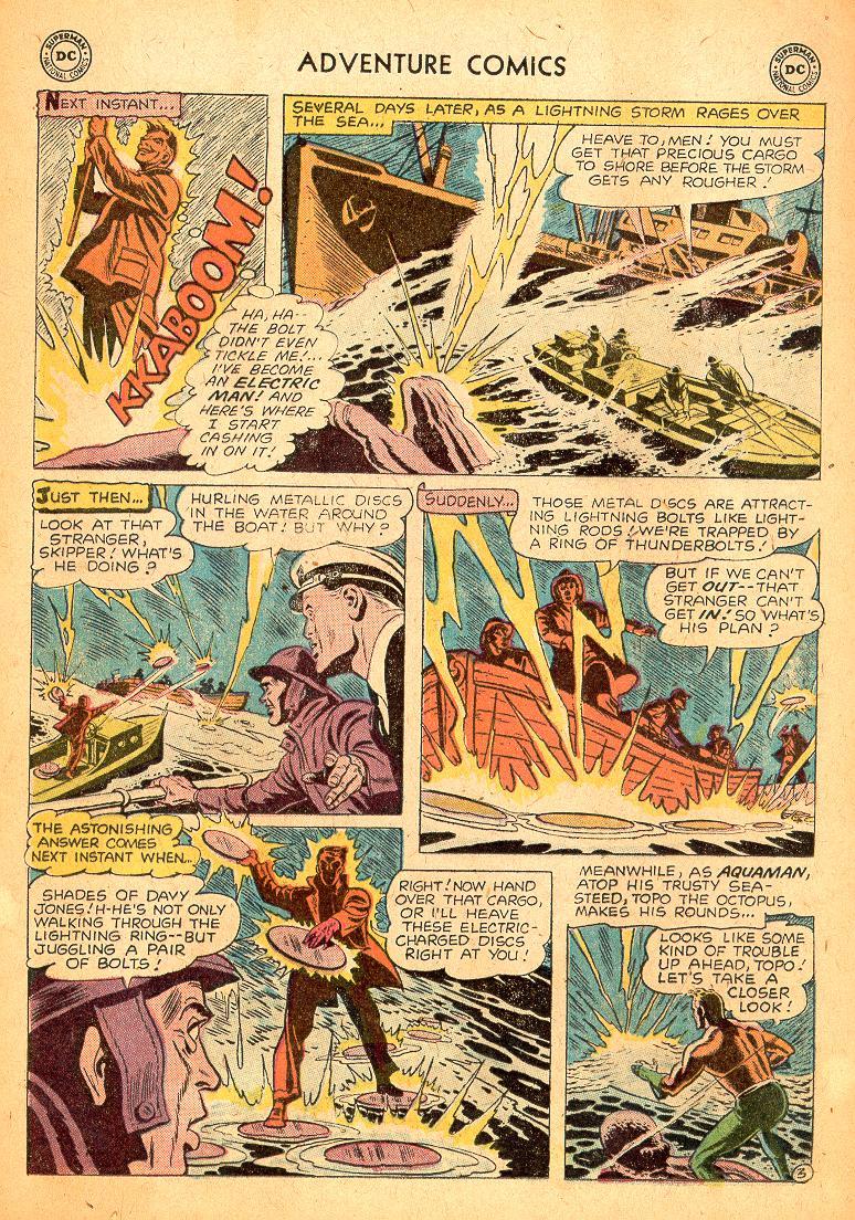 Read online Adventure Comics (1938) comic -  Issue #254 - 20