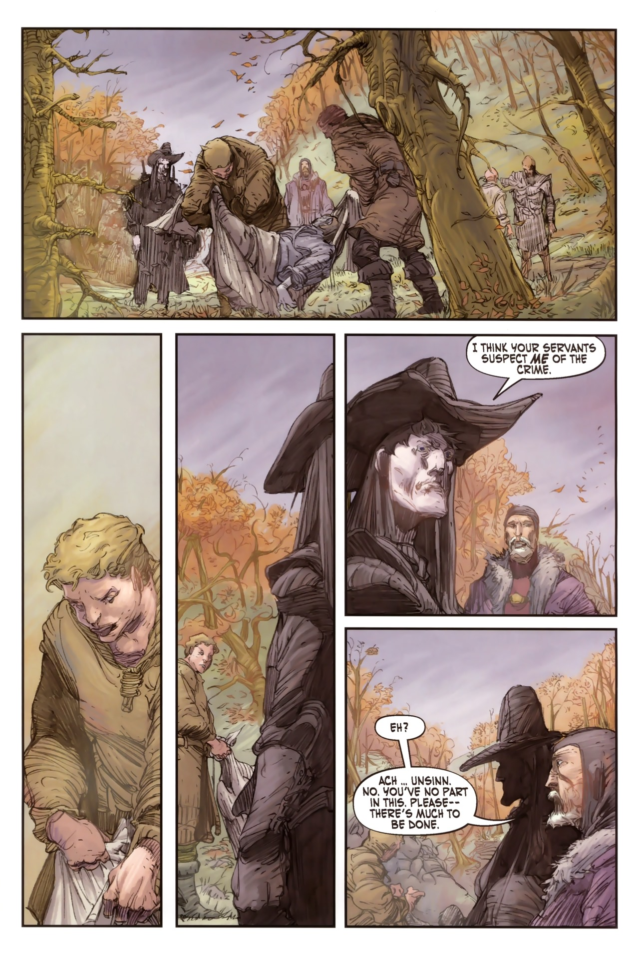Read online Solomon Kane comic -  Issue #2 - 21