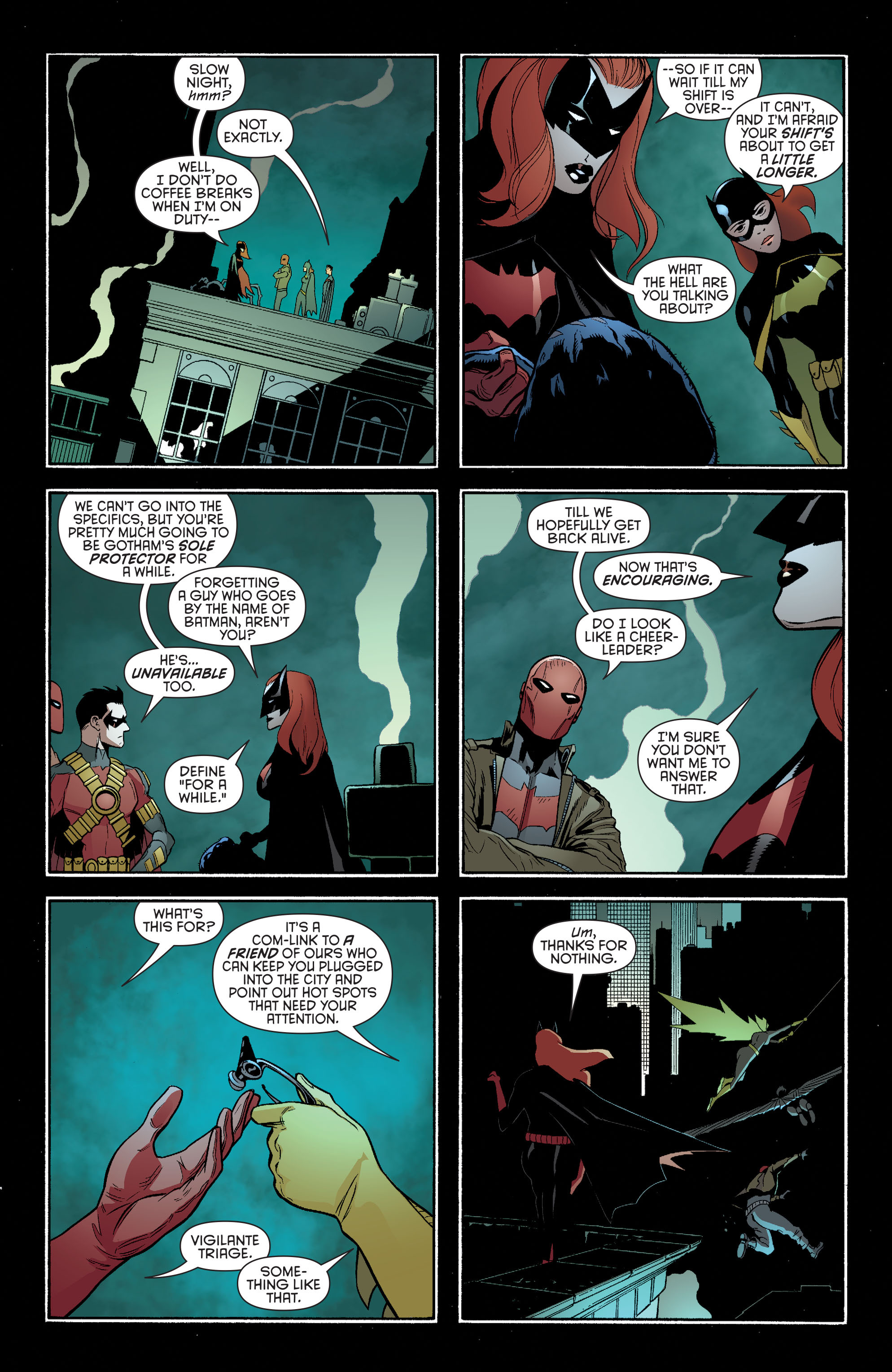 Read online Batman and Robin (2011) comic -  Issue #35 - 10