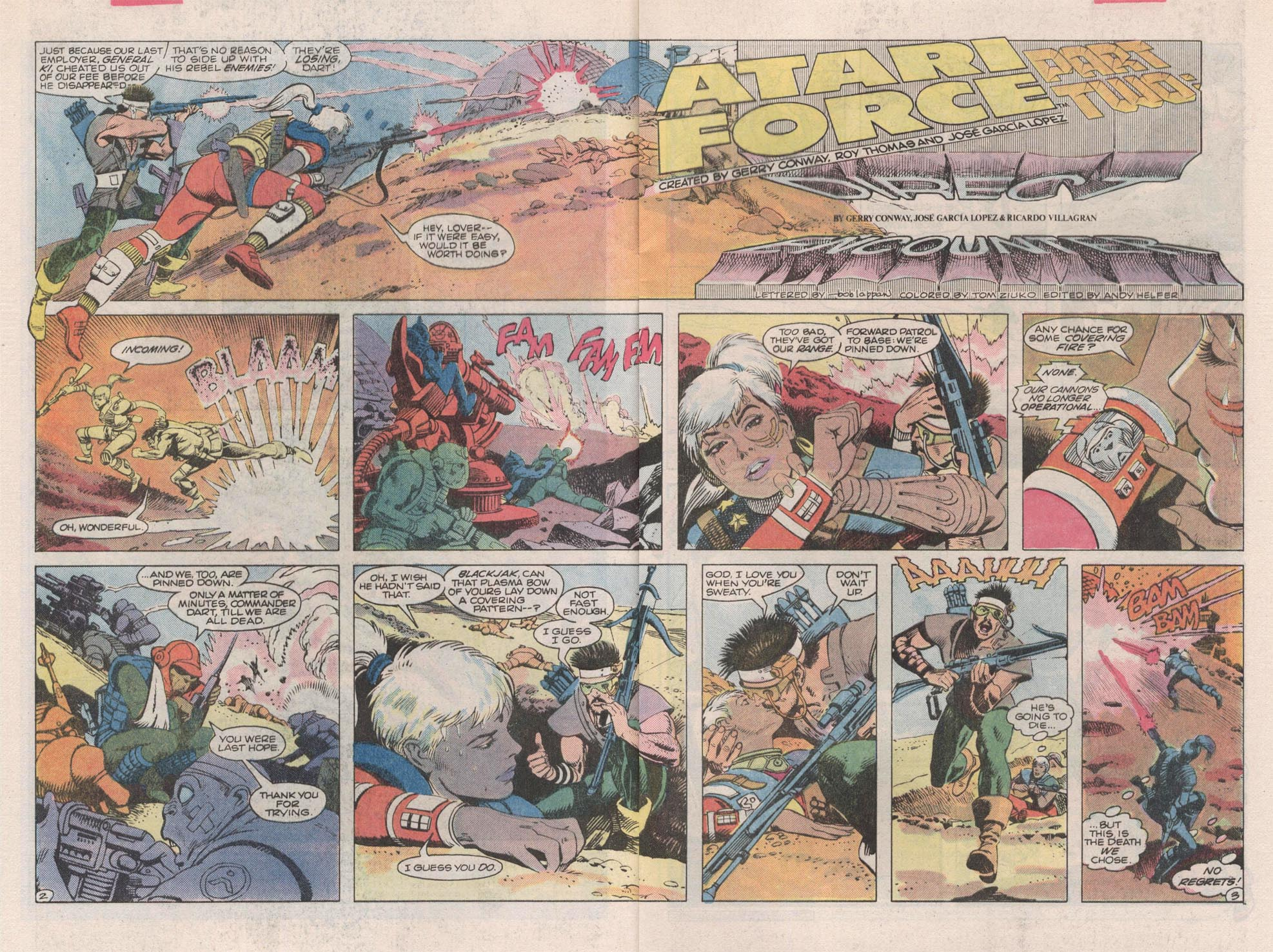 Read online Atari Force (1984) comic -  Issue #2 - 4