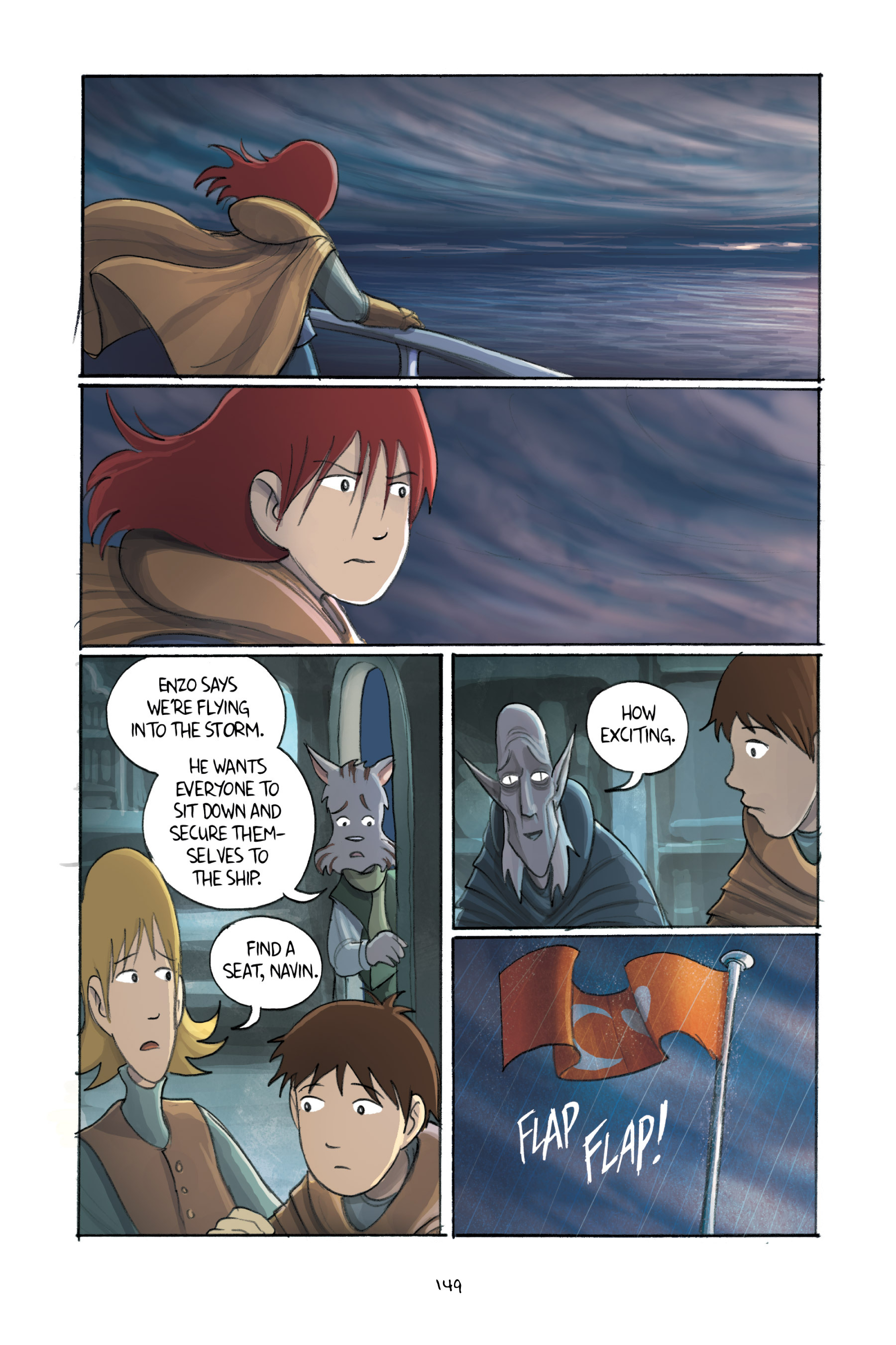 Read online Amulet comic -  Issue #3 - 146
