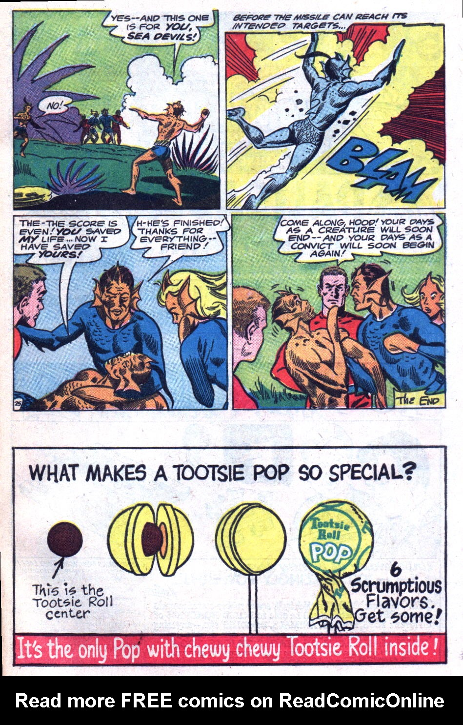 Read online Sea Devils comic -  Issue #18 - 33