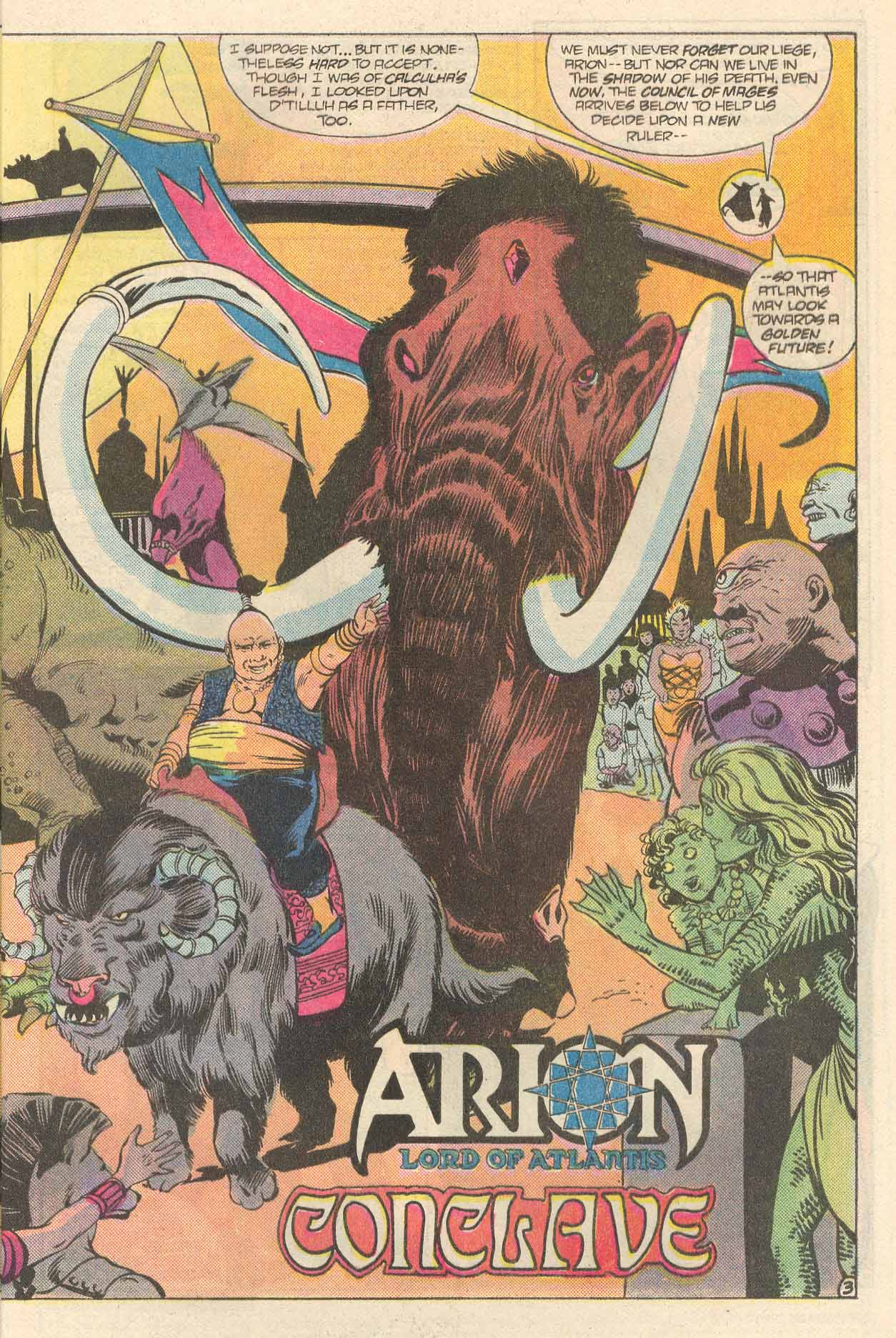 Read online Arion, Lord of Atlantis comic -  Issue #34 - 4