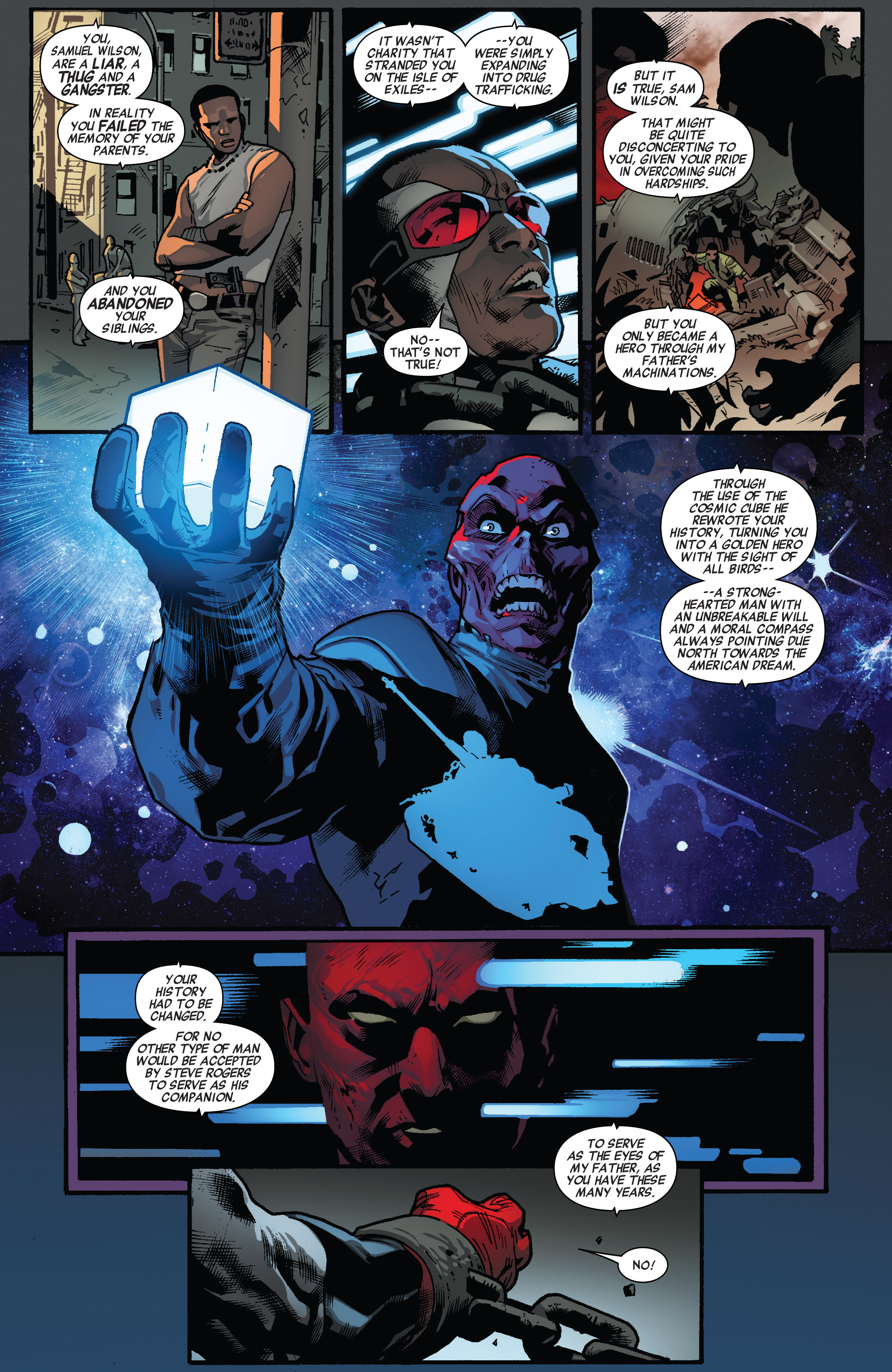 Read online All-New Captain America comic -  Issue #3 - 11