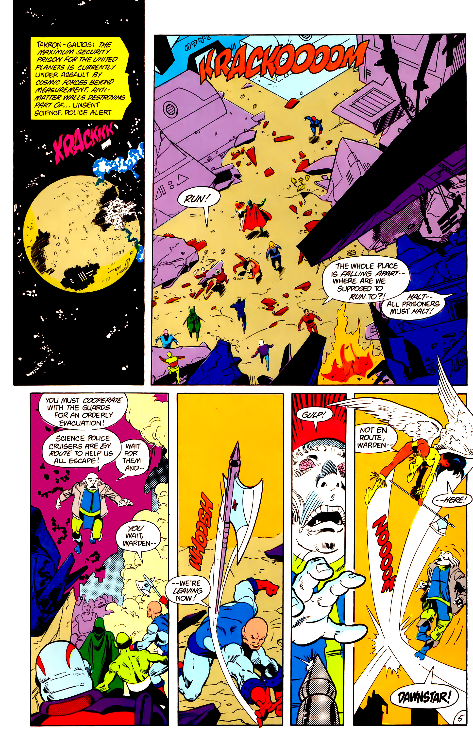 Legion of Super-Heroes (1984) 18 Page 5