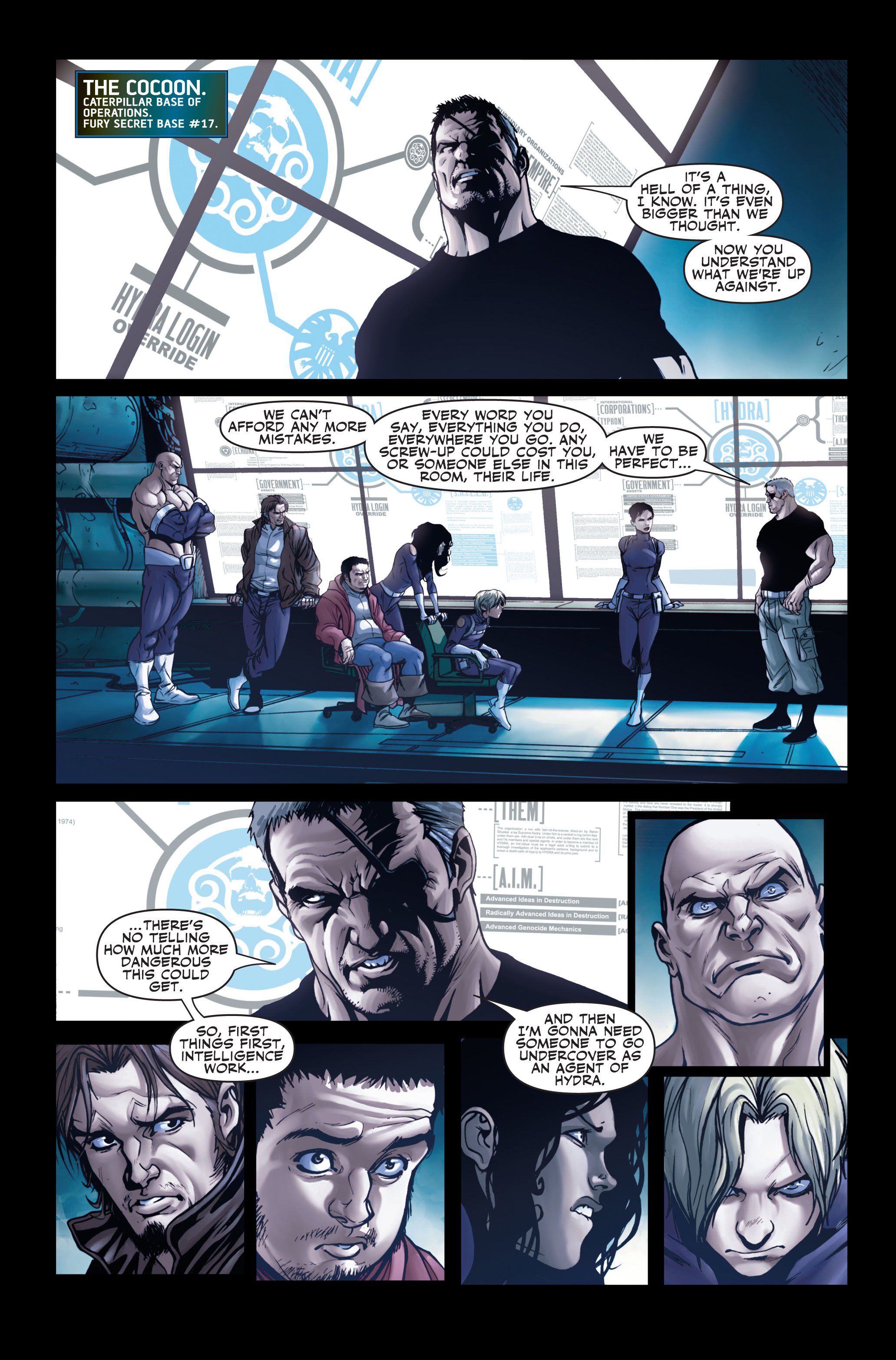 Read online Secret Warriors comic -  Issue #2 - 20