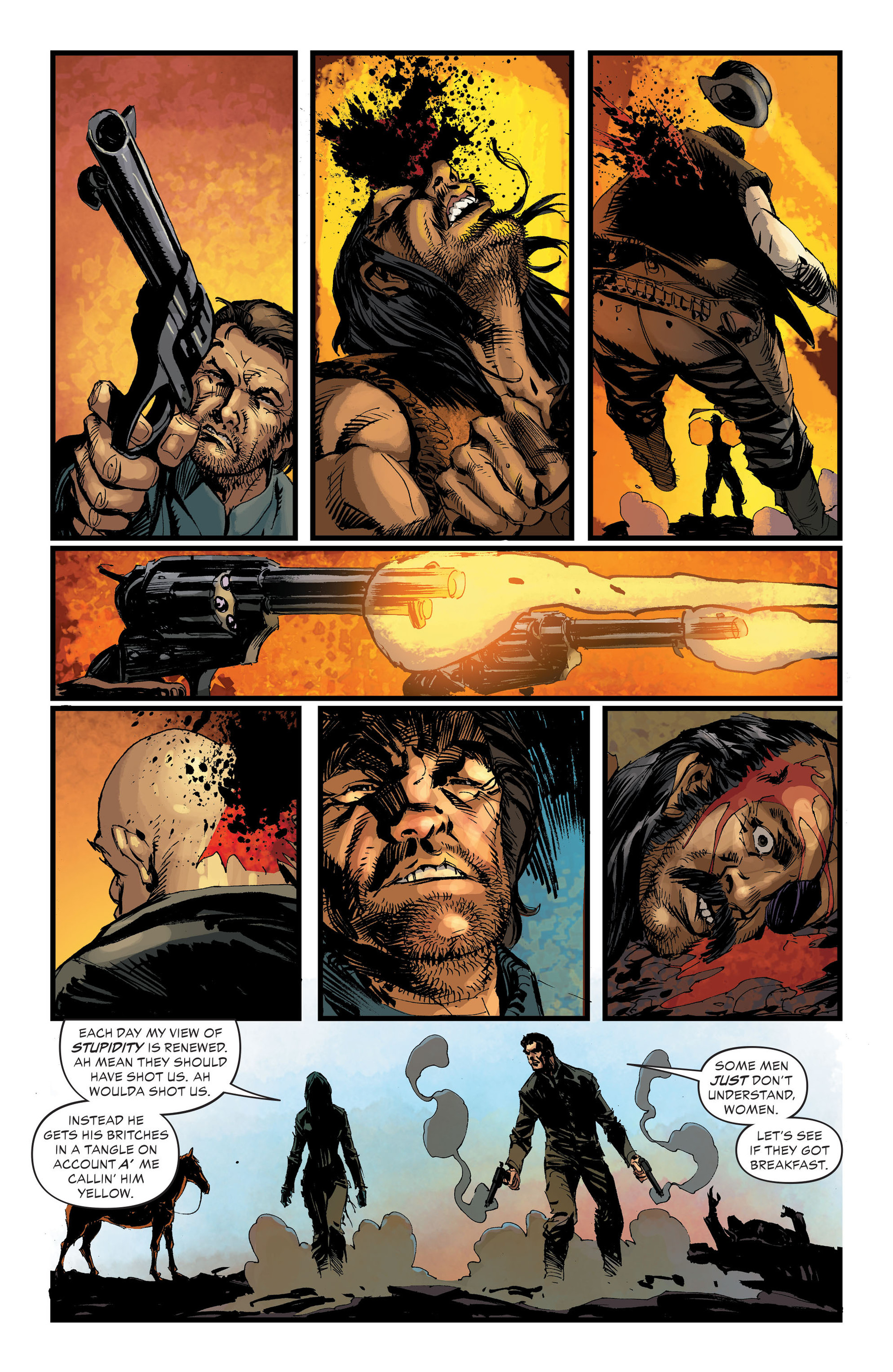 Read online All-Star Western (2011) comic -  Issue #33 - 6