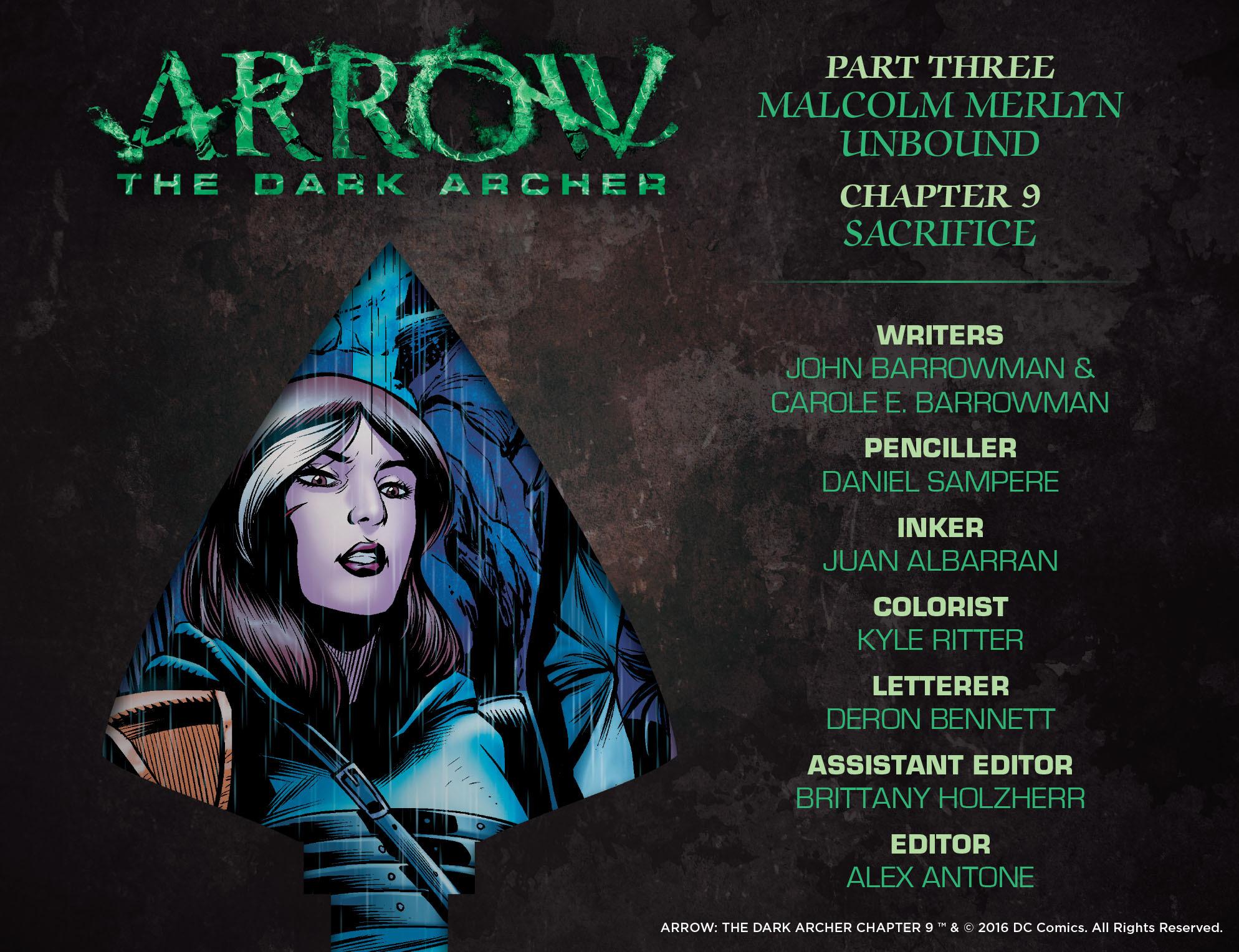 Read online Arrow: The Dark Archer comic -  Issue #9 - 2