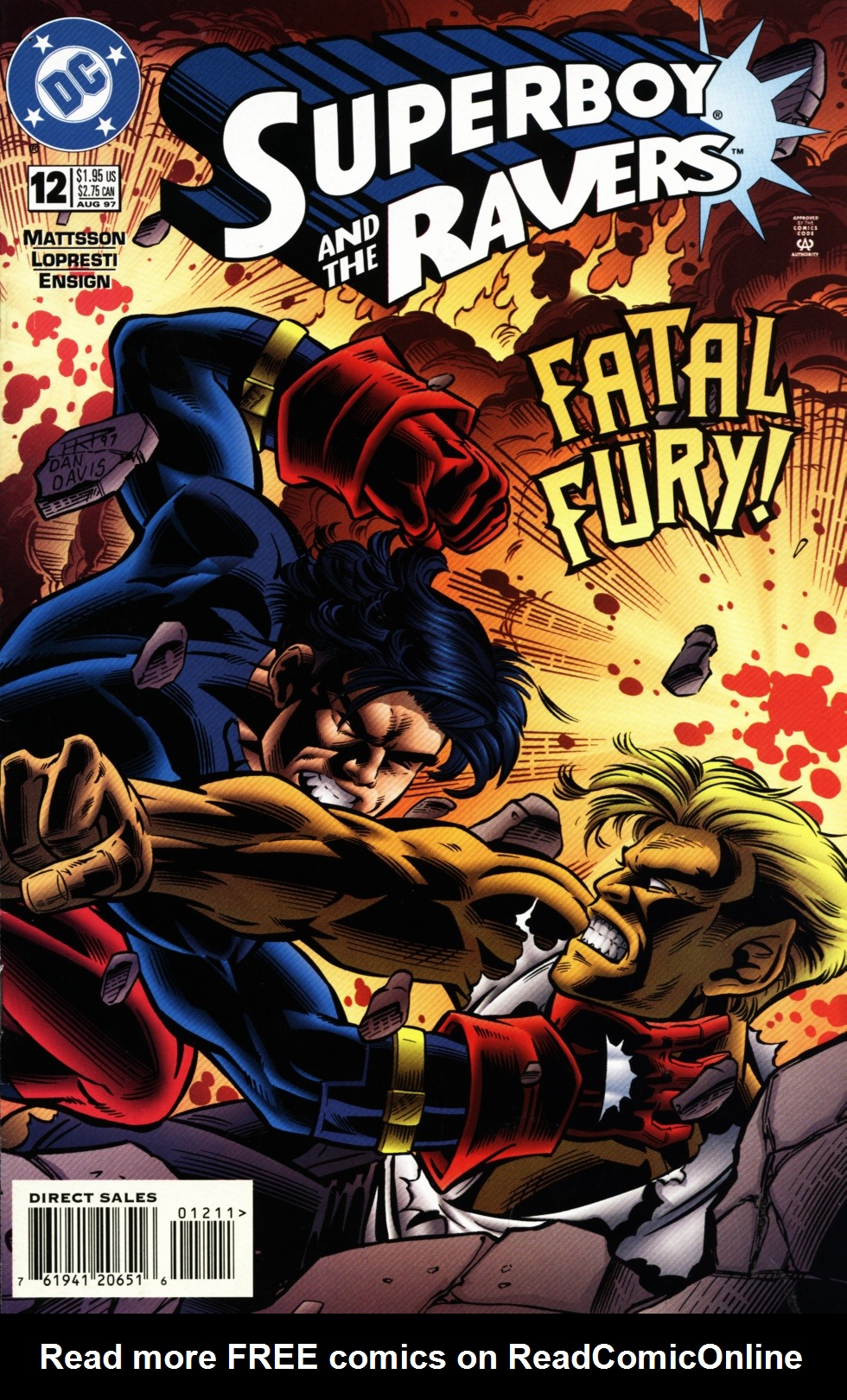 Read online Superboy & The Ravers comic -  Issue #12 - 1