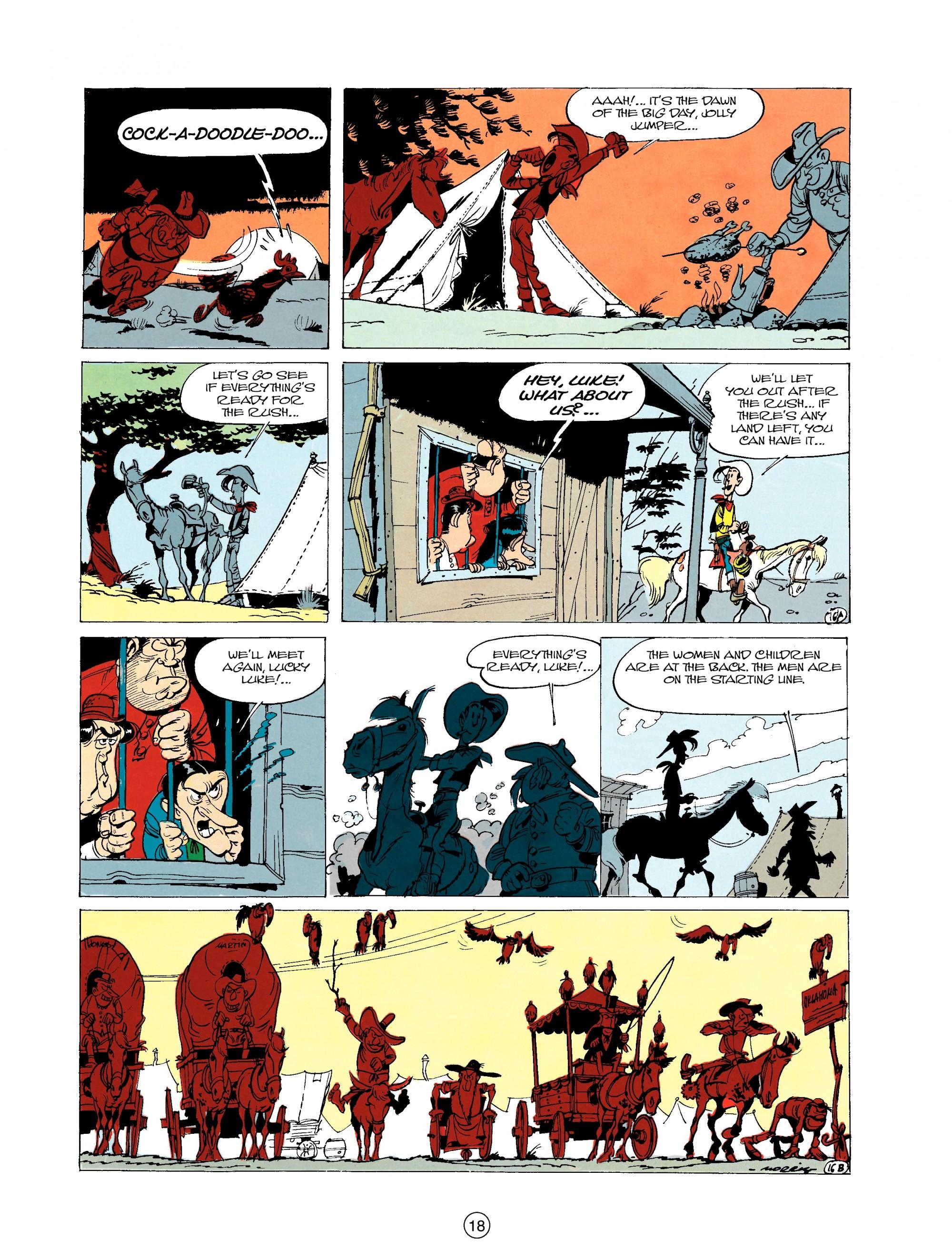 Read online A Lucky Luke Adventure comic -  Issue #20 - 18