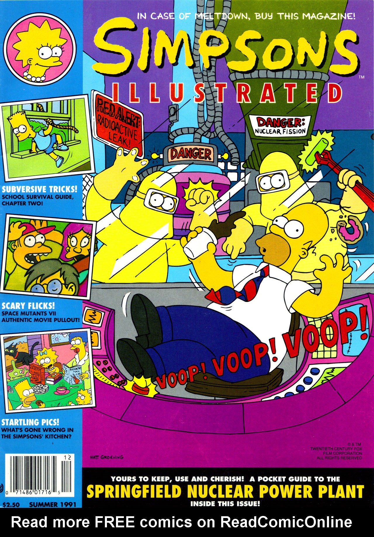 Read online Simpsons Illustrated (1991) comic -  Issue #2 - 1