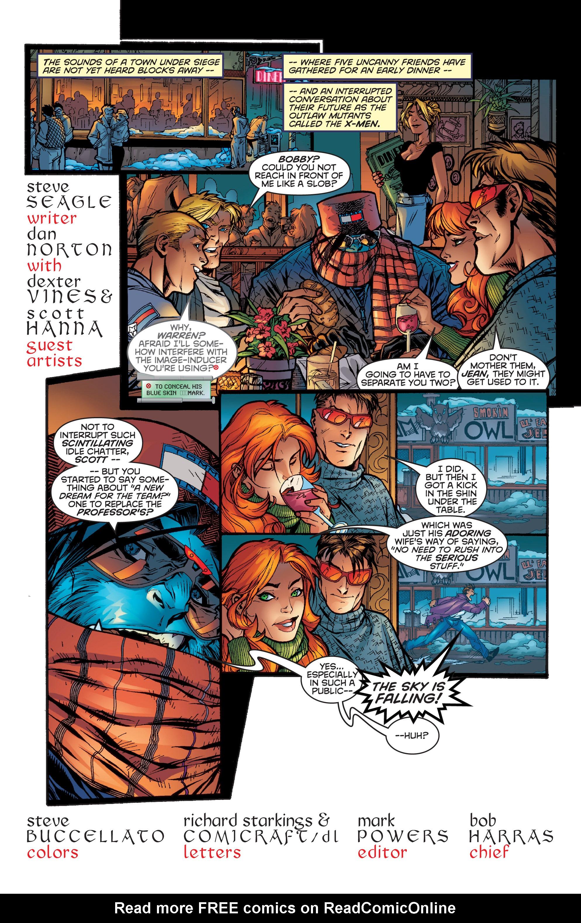 Read online Uncanny X-Men (1963) comic -  Issue #357 - 3