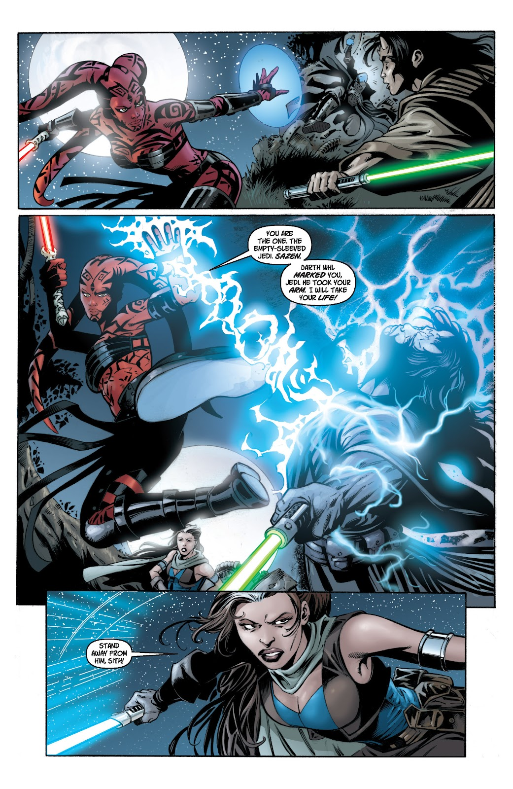 Read online Star Wars Legends: Legacy - Epic Collection comic -  Issue # TPB 1 (Part 1) - 91