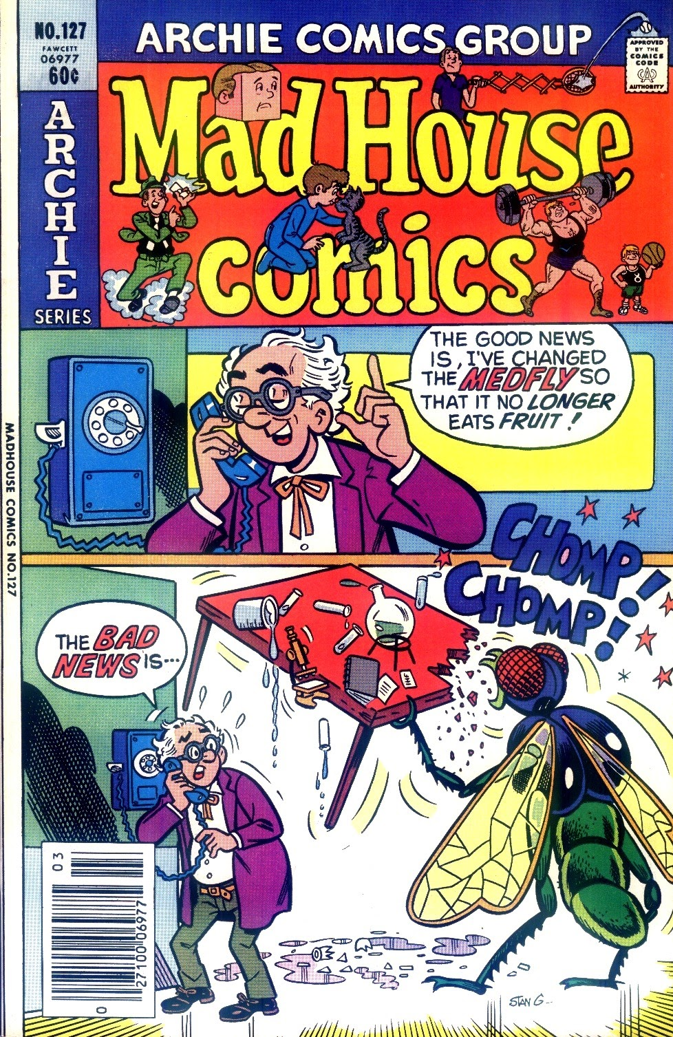 Read online Madhouse Comics comic -  Issue #127 - 1