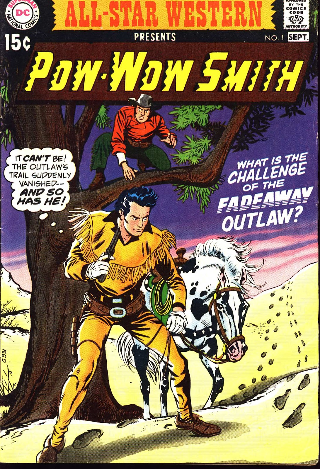All-Star Western (1970) issue 1 - Page 1