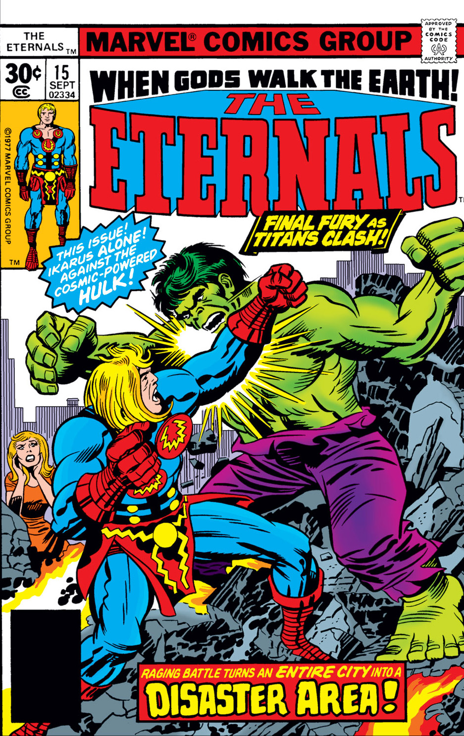 The Eternals issue 15 - Page 1