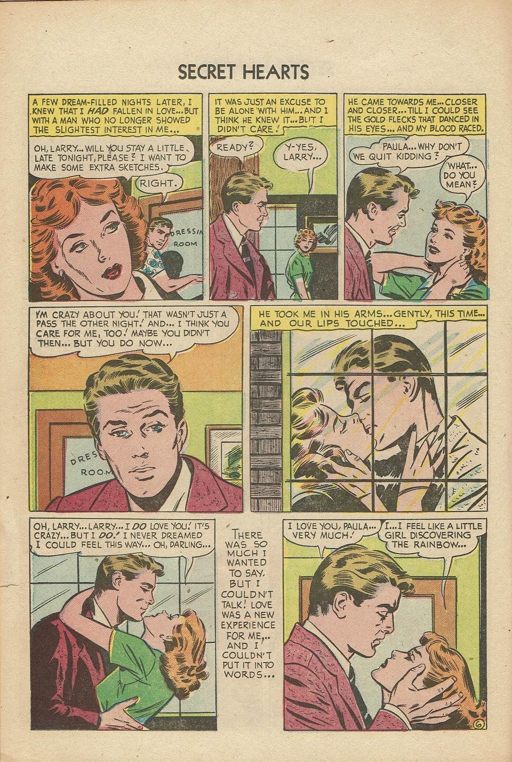 Read online Secret Hearts comic -  Issue #14 - 22