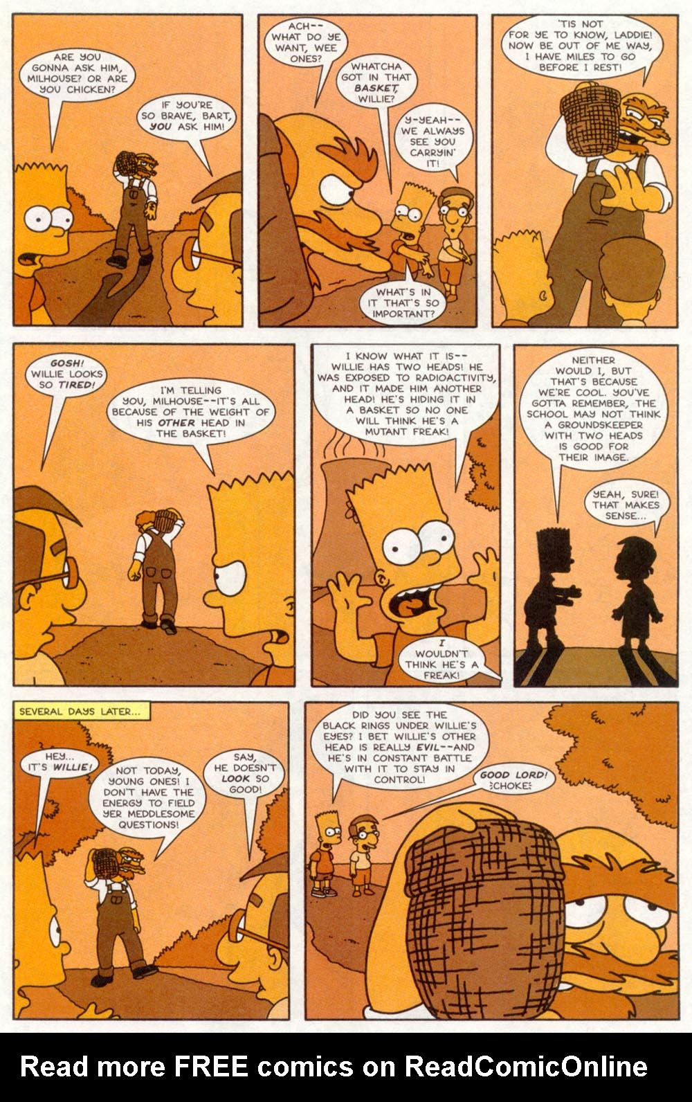 Read online Treehouse of Horror comic -  Issue #4 - 23