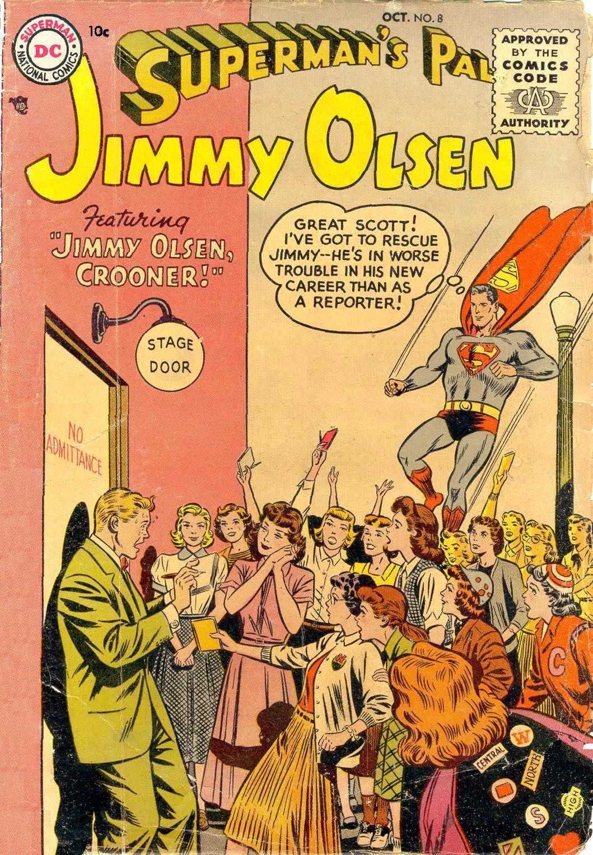 Supermans Pal Jimmy Olsen (1954) 8 Page 1