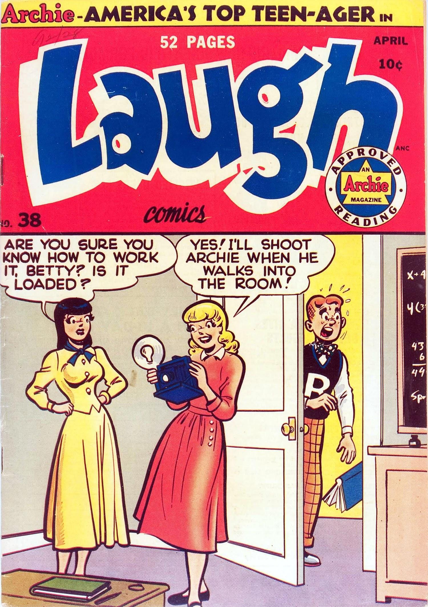 Laugh (Comics) 38 Page 1