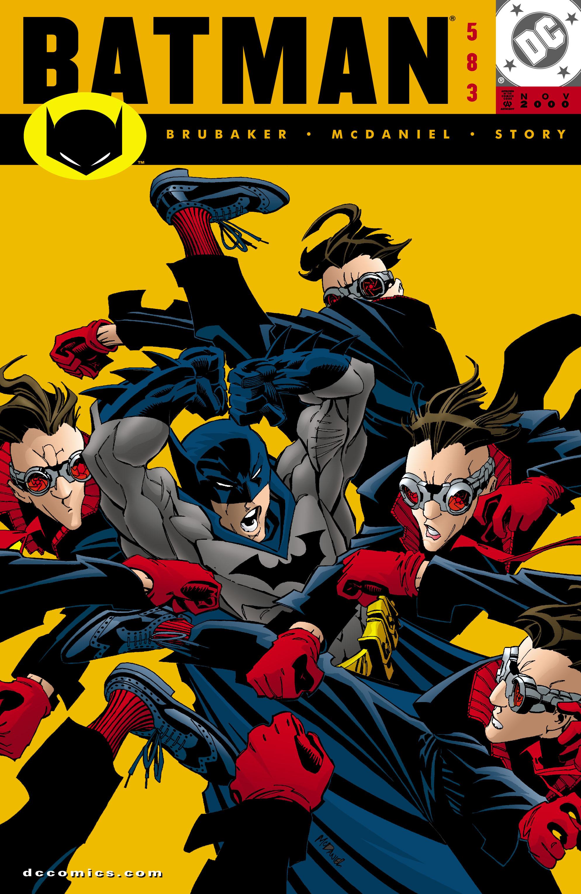 Batman (1940) 583 Page 1