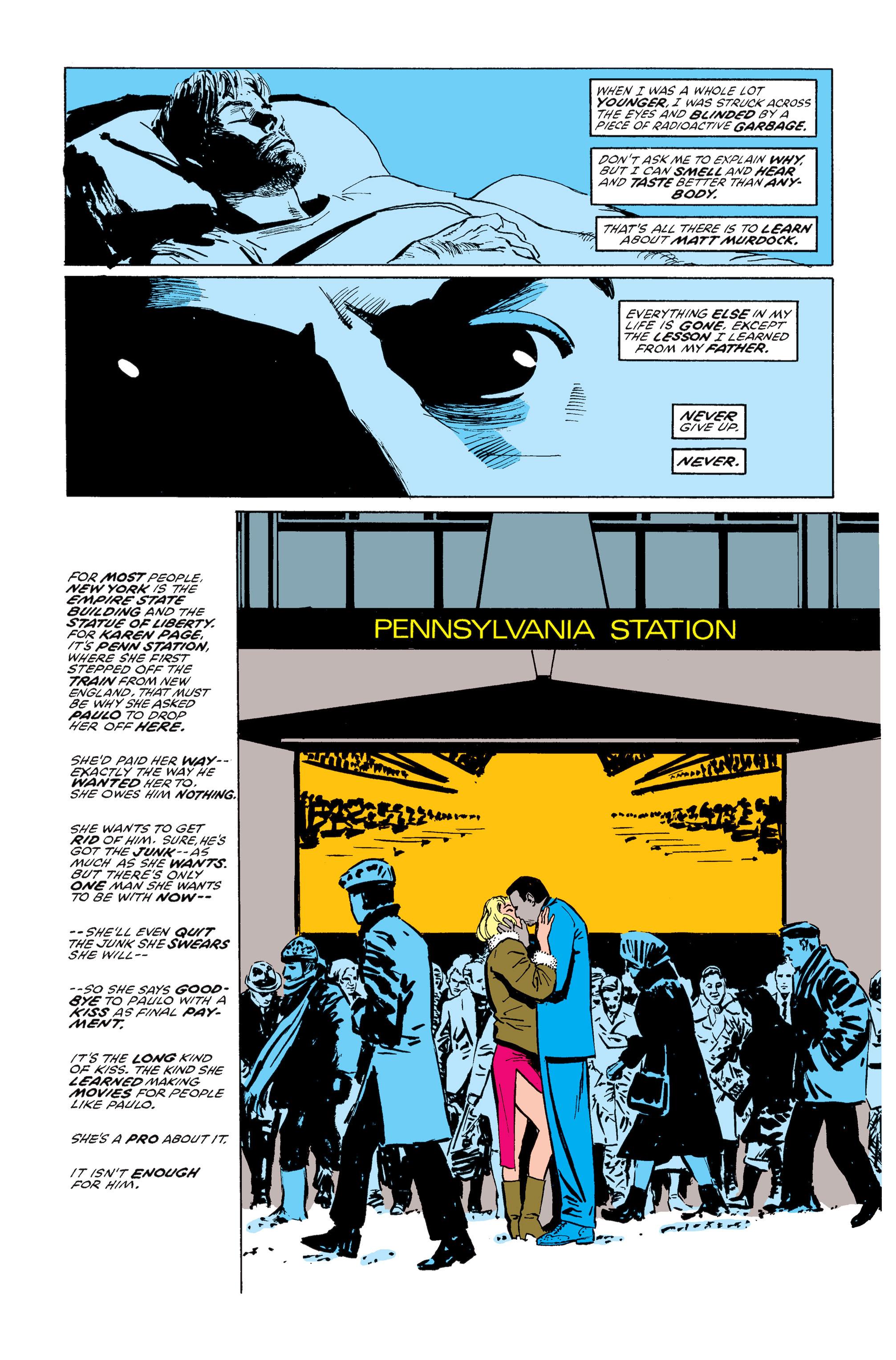 Read online Daredevil: Born Again comic -  Issue # Full - 104