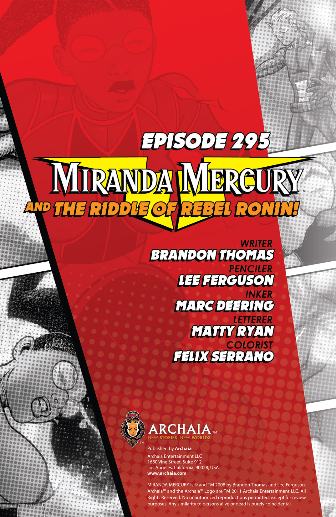 Read online The Many Adventures of Miranda Mercury: Time Runs Out comic -  Issue # TPB - 13