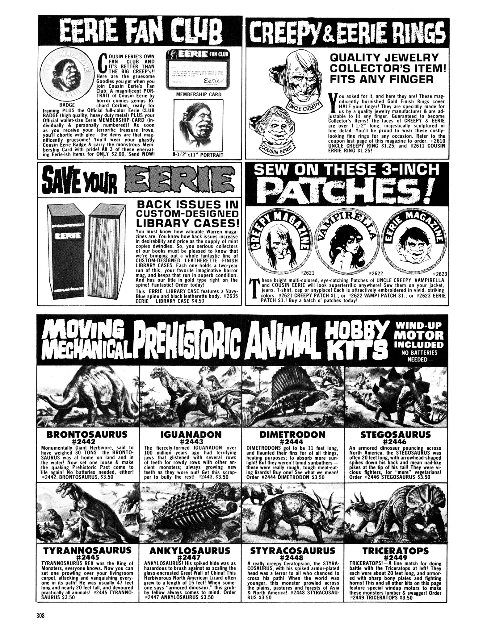 Read online Eerie Archives comic -  Issue # TPB 16 - 309