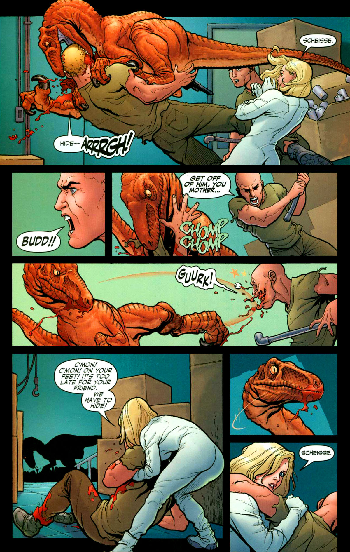 Read online Shanna, the She-Devil (2005) comic -  Issue #1 - 16