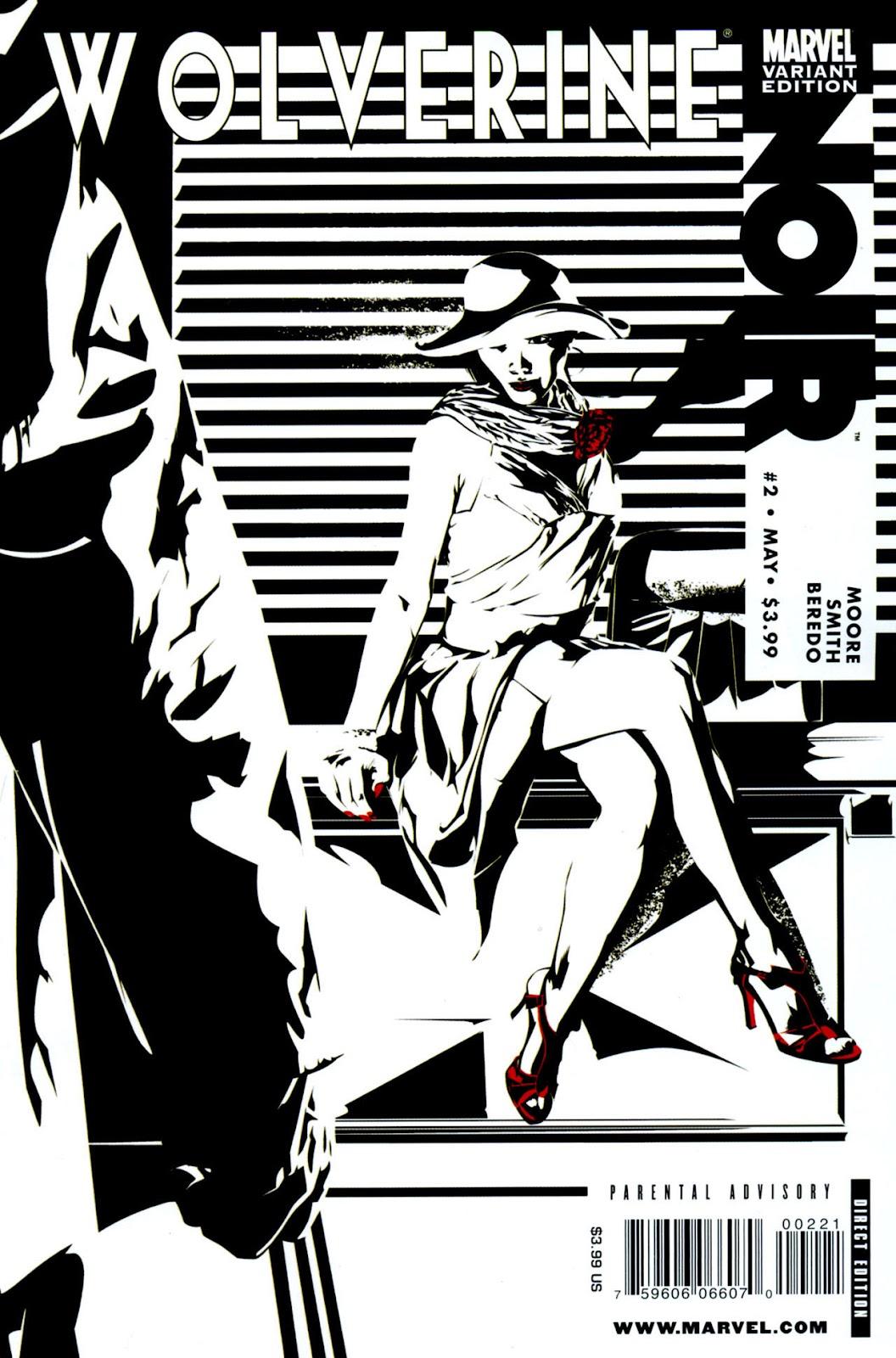 Wolverine Noir issue 2 - Page 1