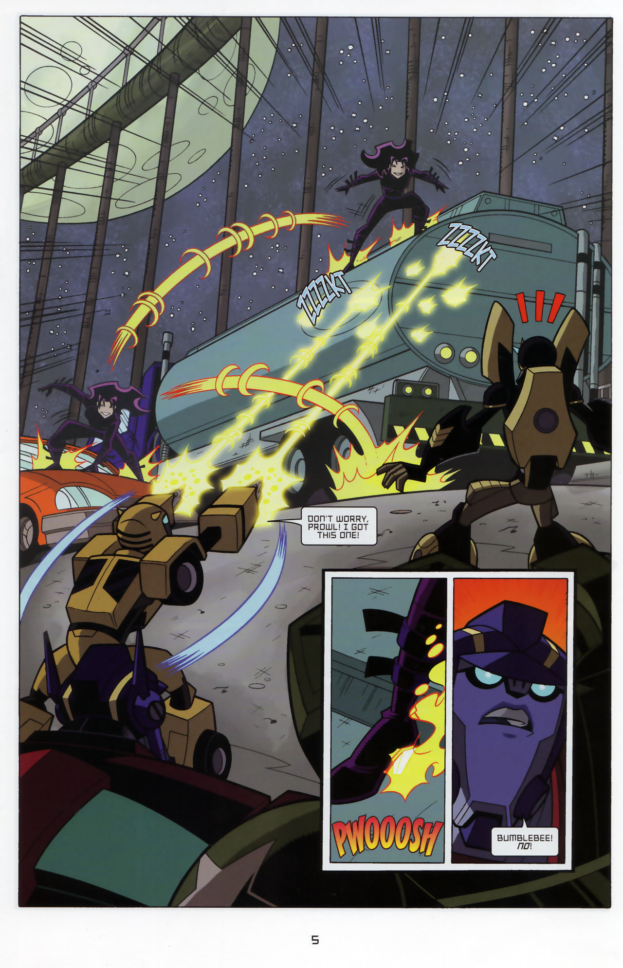 Read online Transformers Animated: The Arrival comic -  Issue #3 - 7