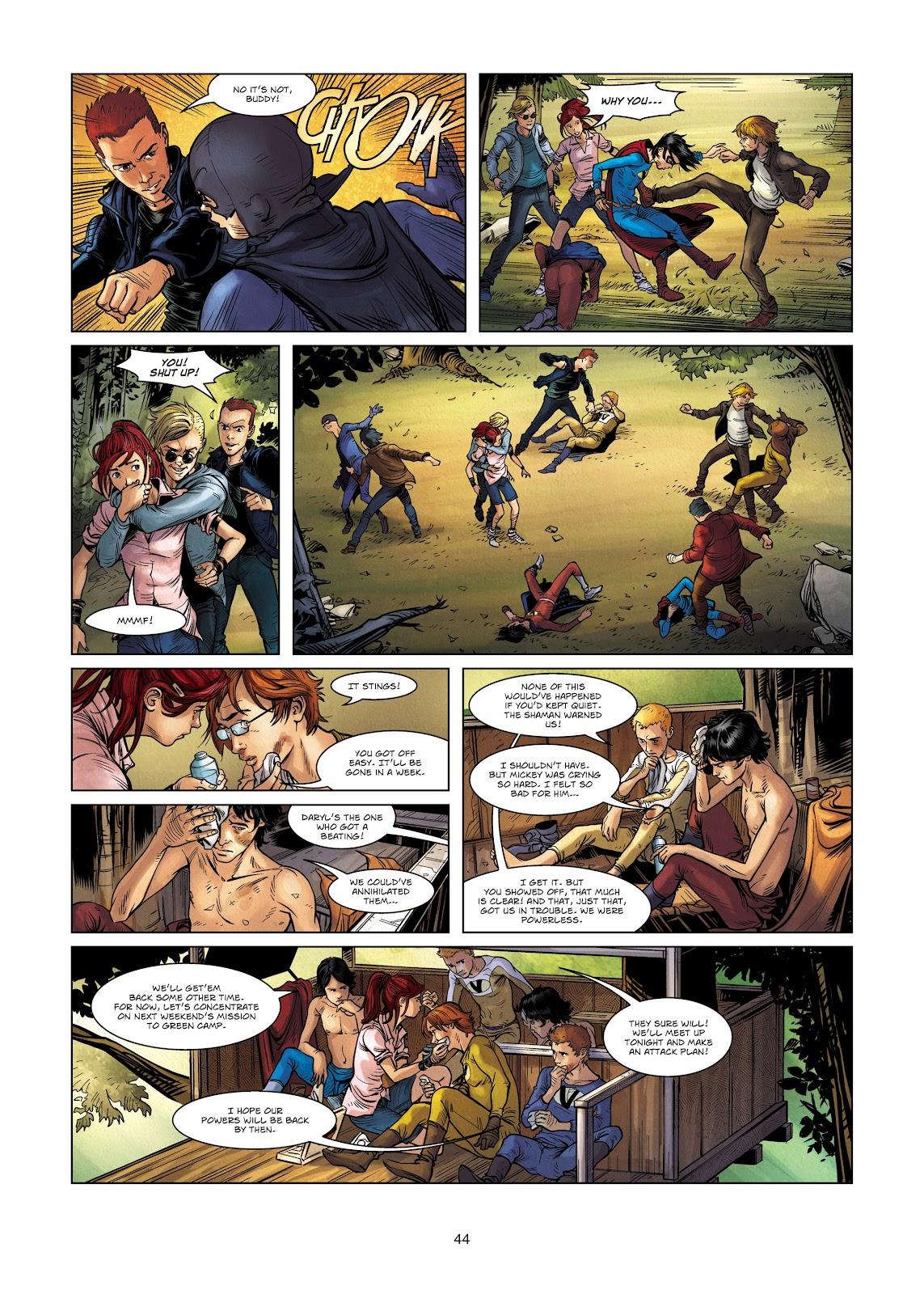 Read online Vigilantes comic -  Issue #2 - 44