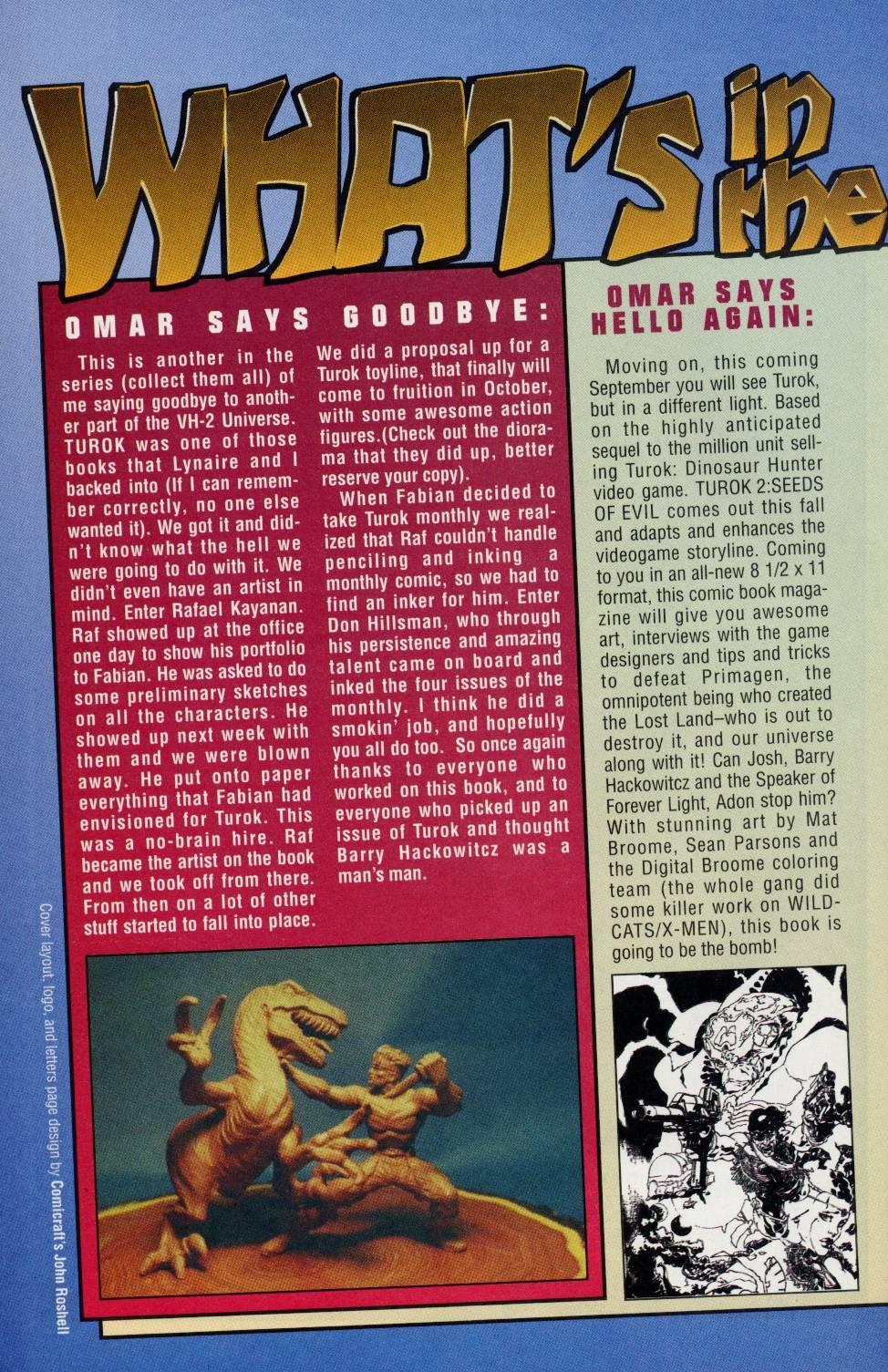 Read online Turok comic -  Issue #4 - 23