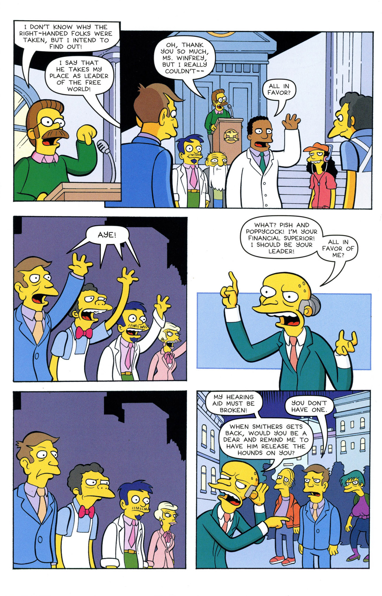 Read online Treehouse of Horror comic -  Issue #21 - 21