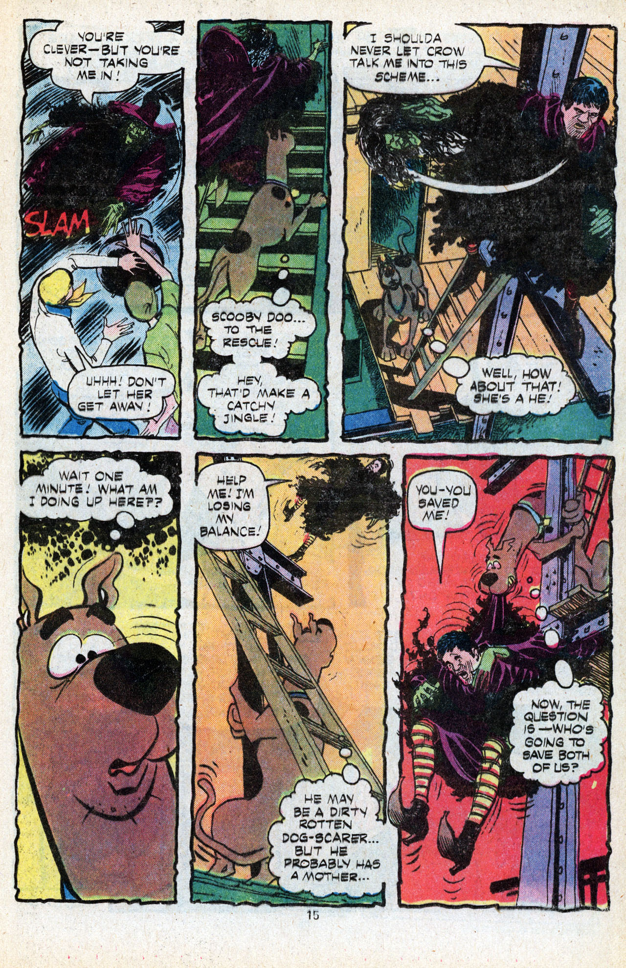Read online Scooby-Doo (1977) comic -  Issue #5 - 17