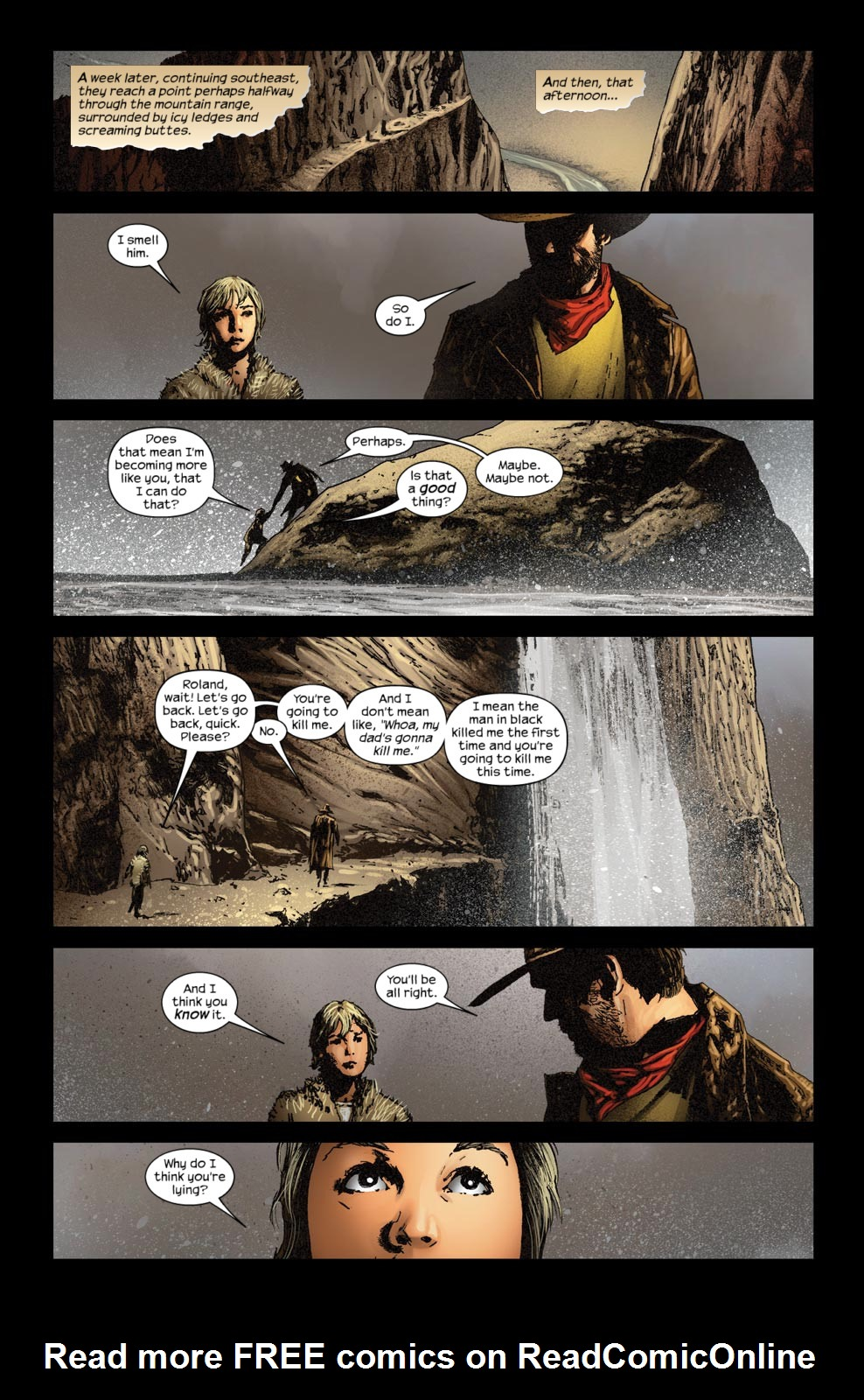 Read online Dark Tower: The Gunslinger - The Way Station comic -  Issue #5 - 20
