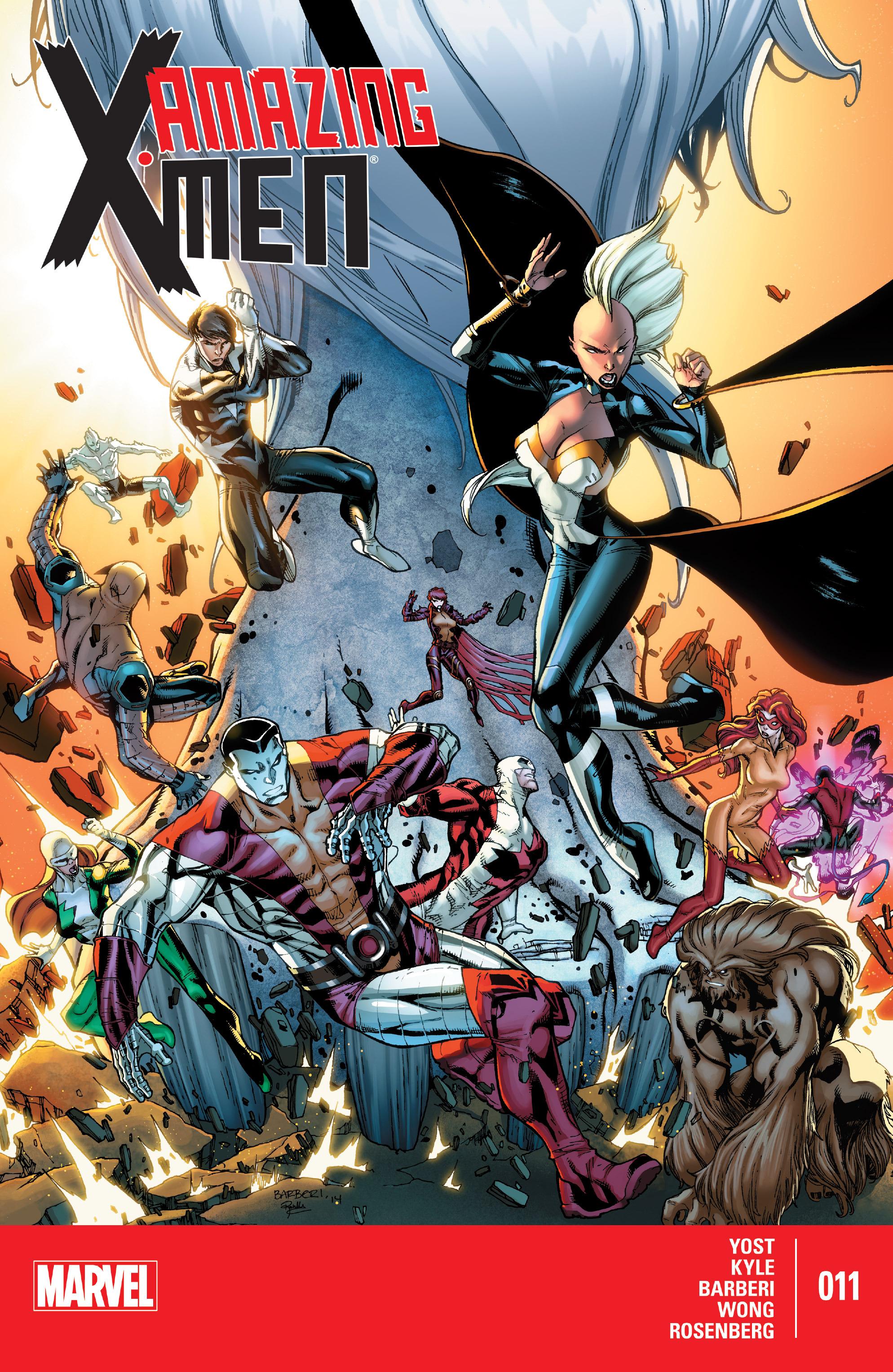 Amazing X-Men (2014) 11 Page 1