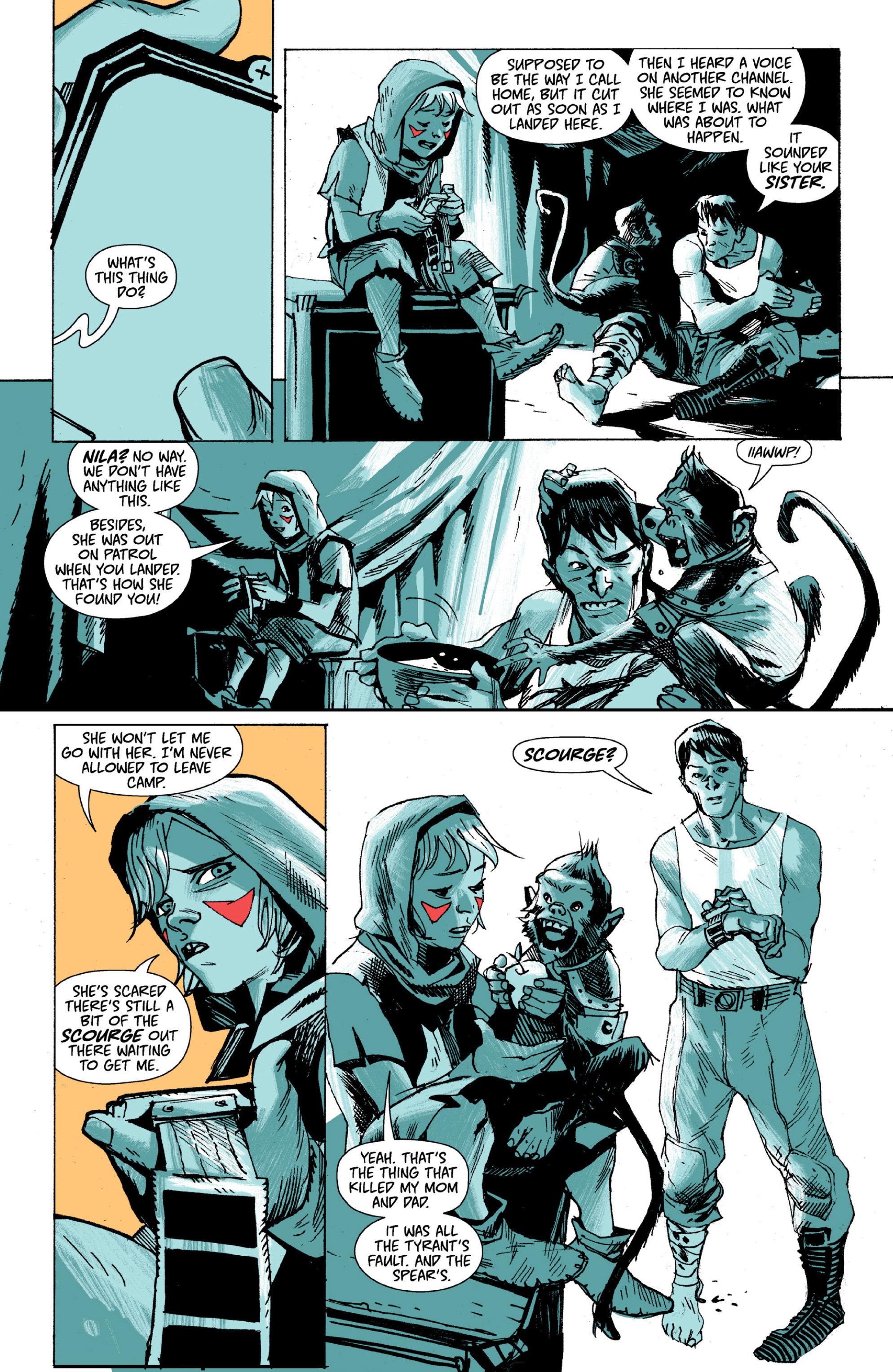 Read online Ei8ht comic -  Issue # TPB - 48