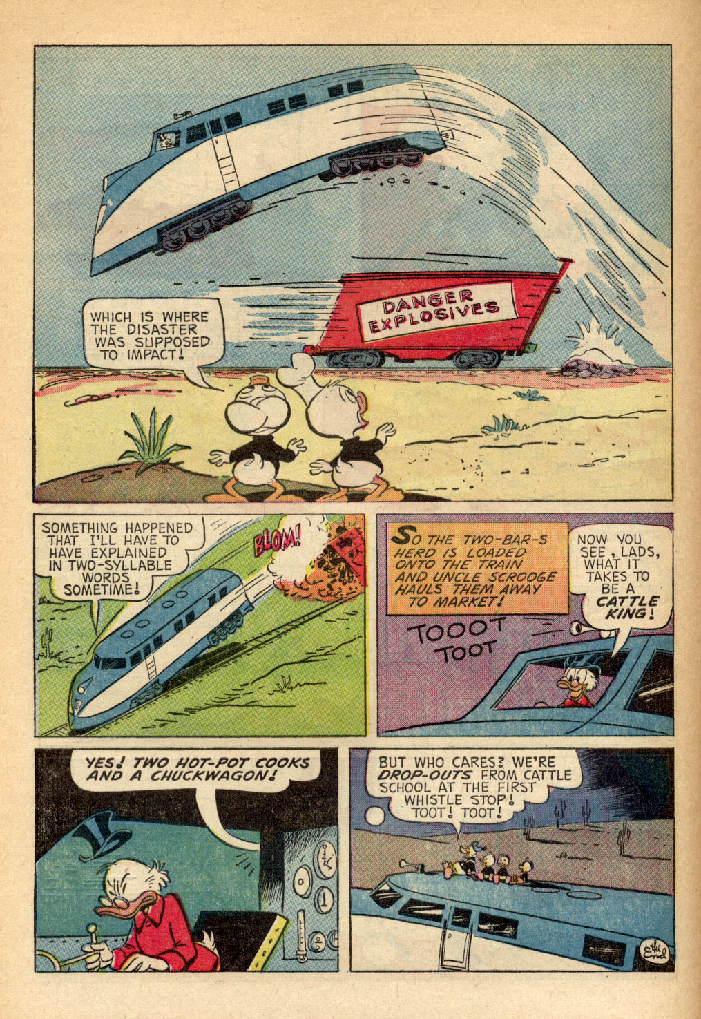Read online Uncle Scrooge (1953) comic -  Issue #69 - 28