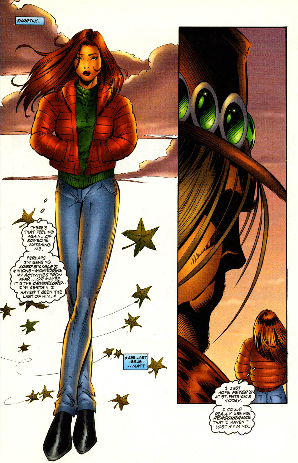 Read online Avengelyne (1996) comic -  Issue #9 - 7