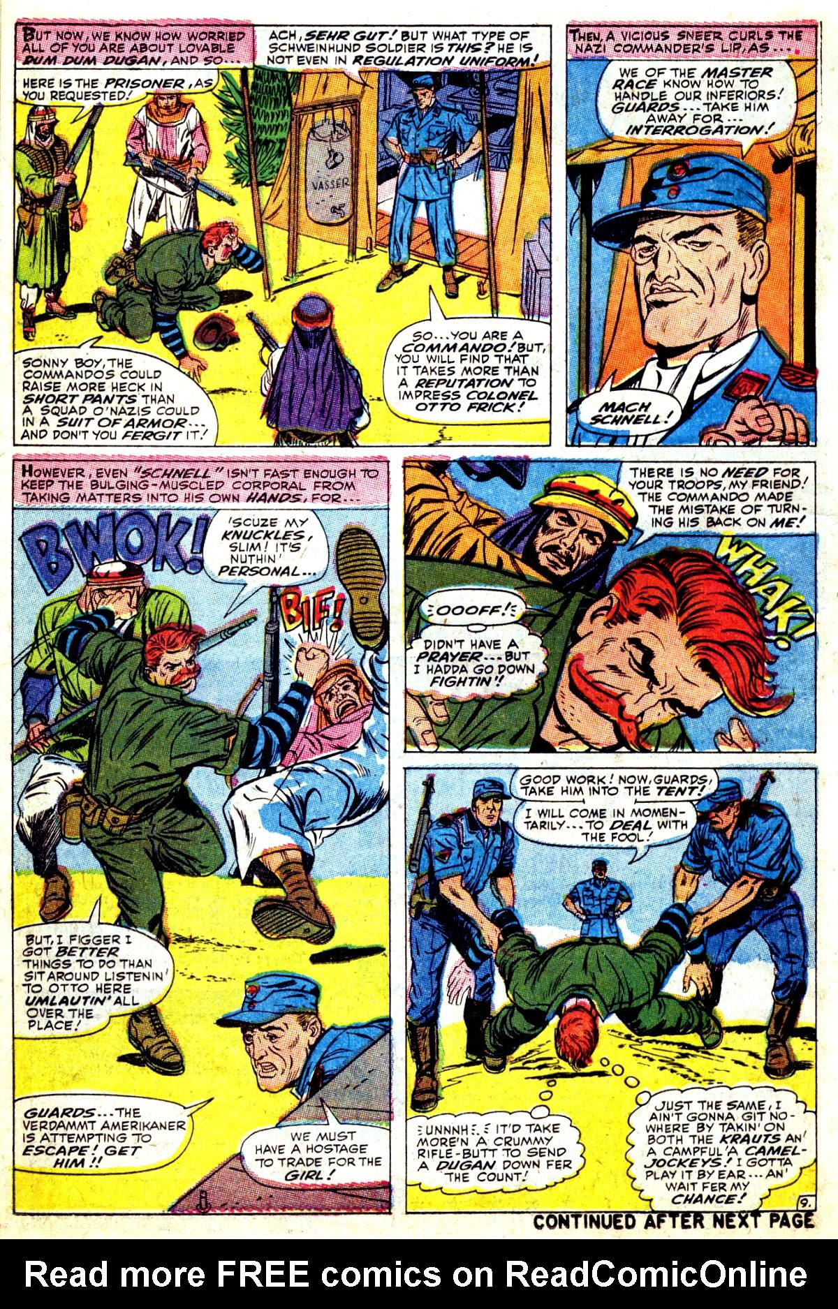 Read online Sgt. Fury comic -  Issue #37 - 14