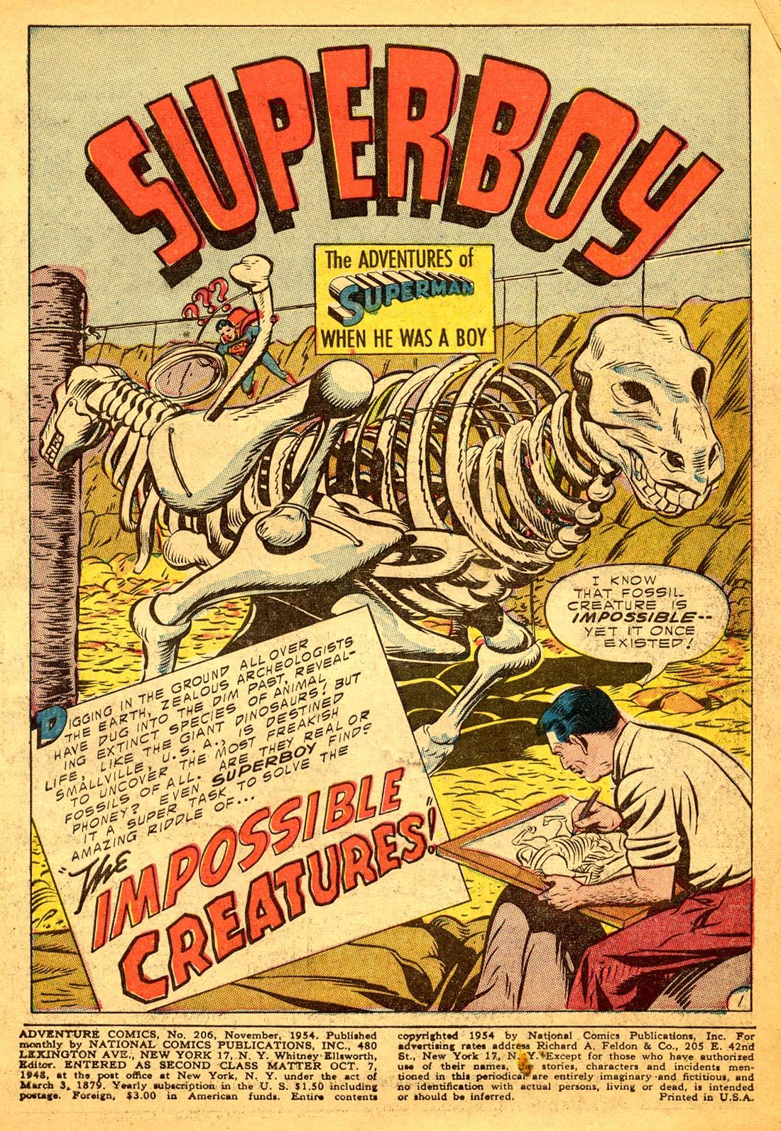 Read online Adventure Comics (1938) comic -  Issue #206 - 3