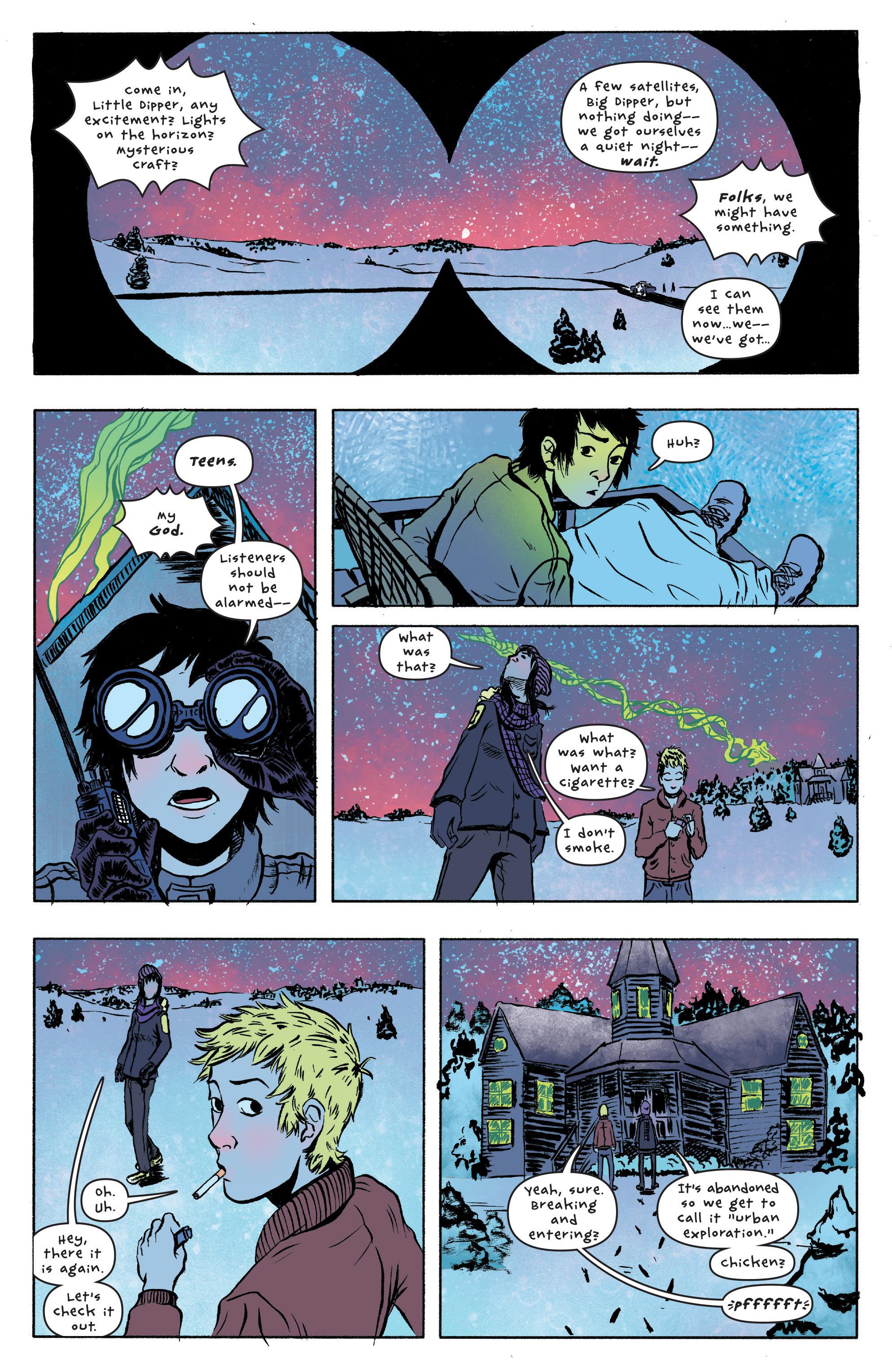 Read online UFOlogy comic -  Issue #1 - 14