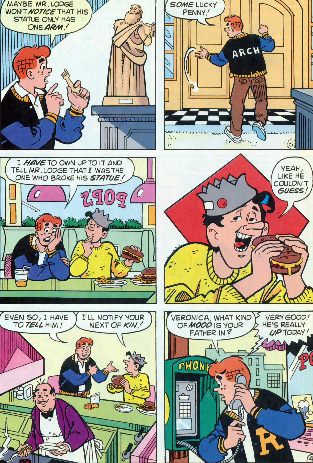 Read online Archie (1960) comic -  Issue #466 - 23
